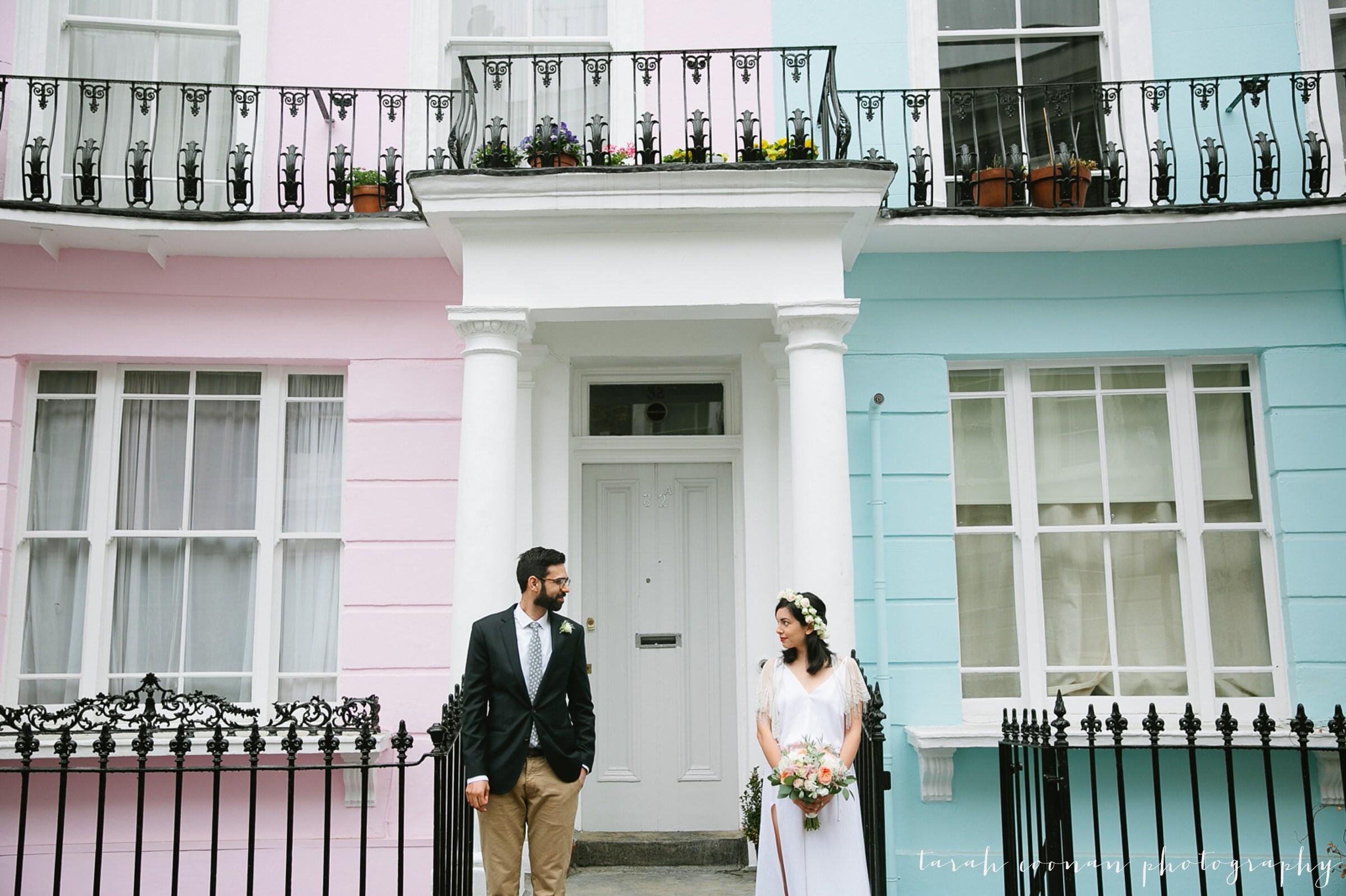 pastel houses london