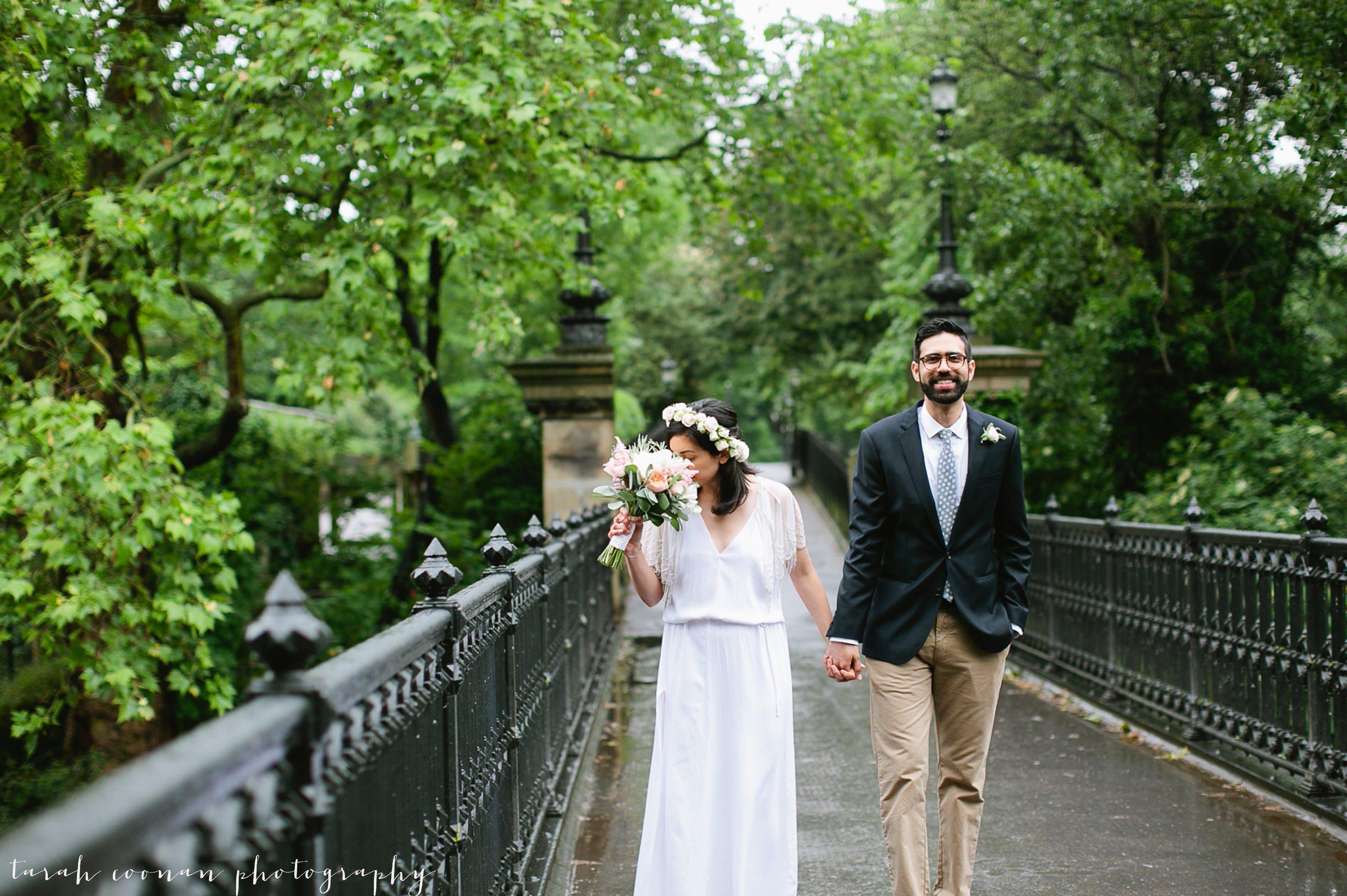 park bridge wedding