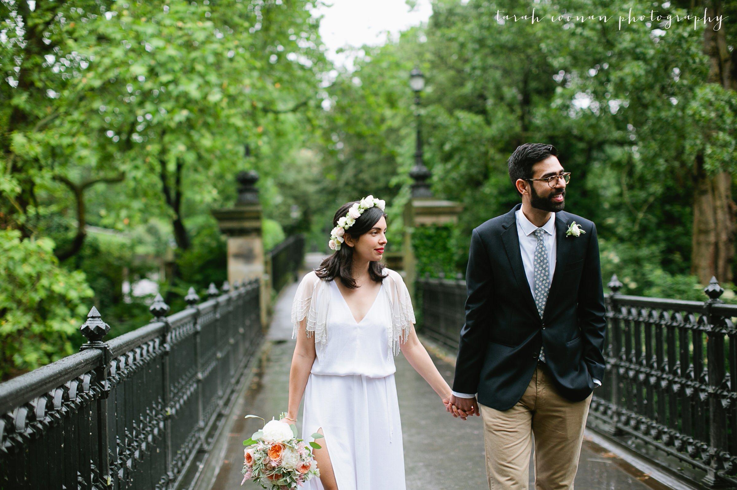 london park bridge wedding photographer