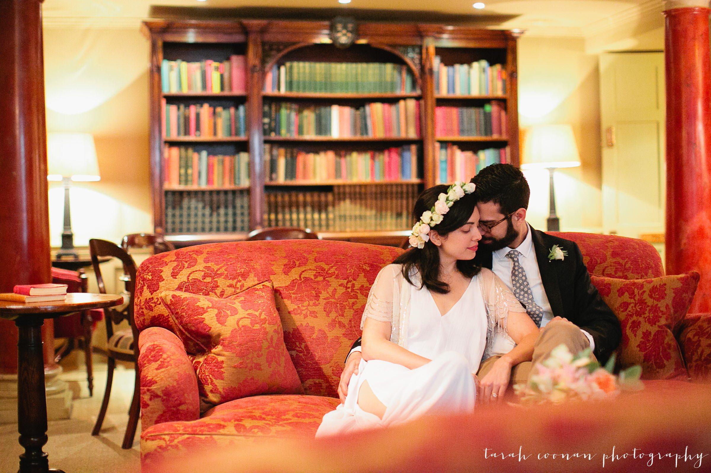 intimate london townhouse wedding