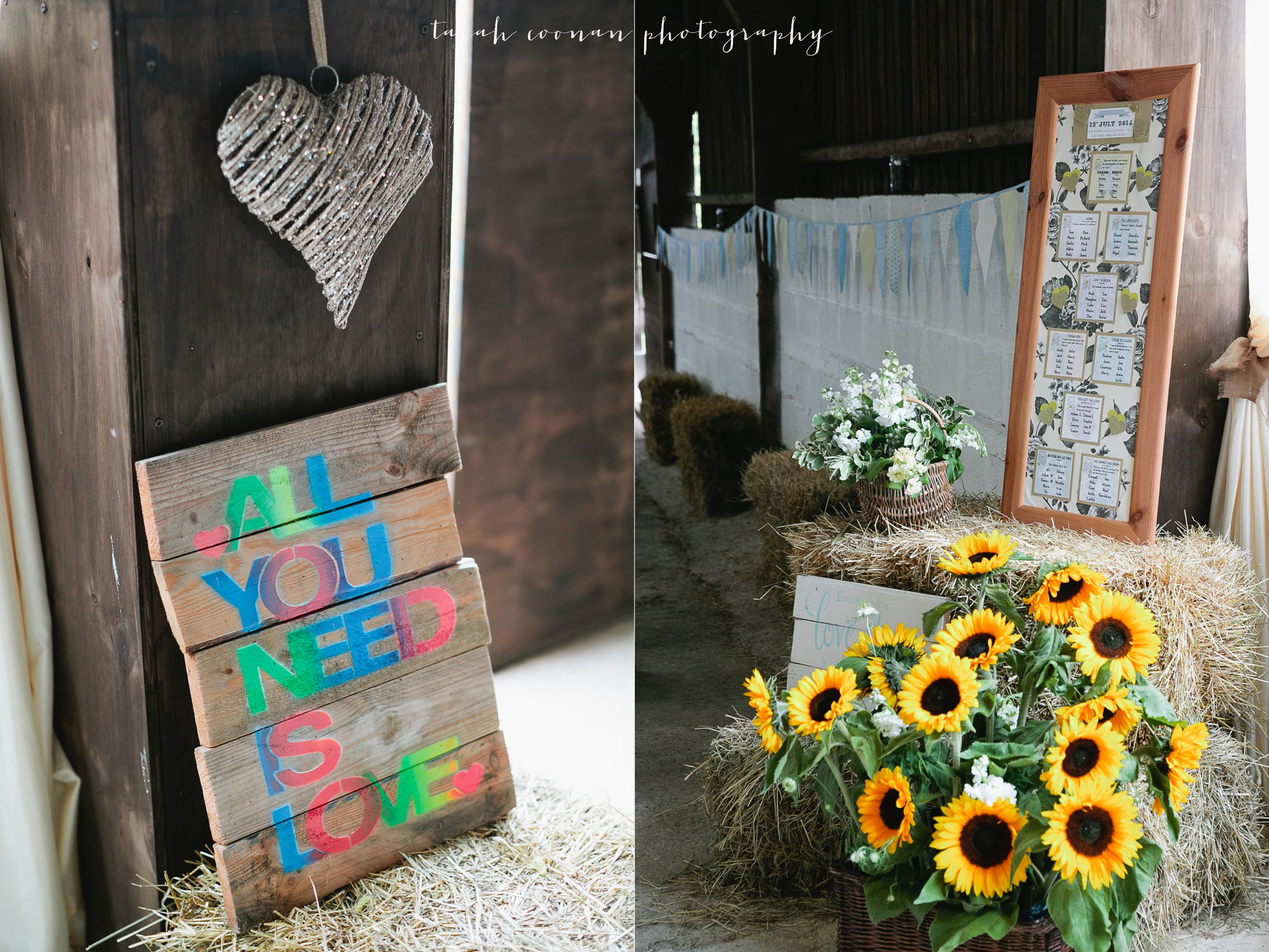 all you need is love wedding