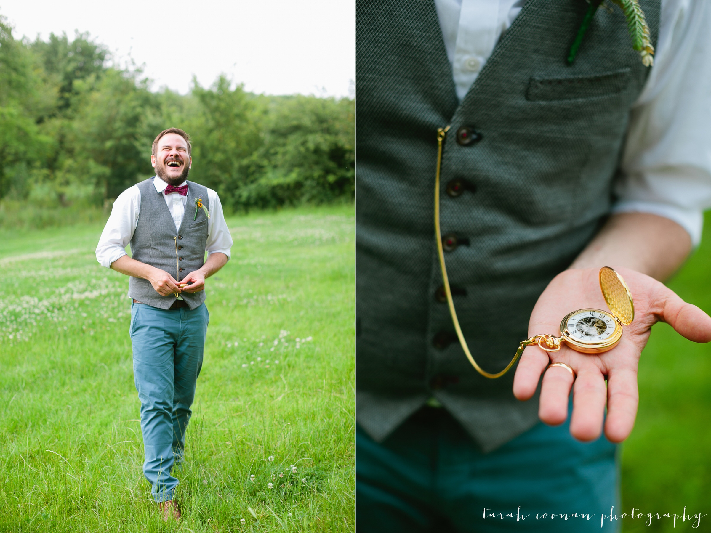 pocket watch groom