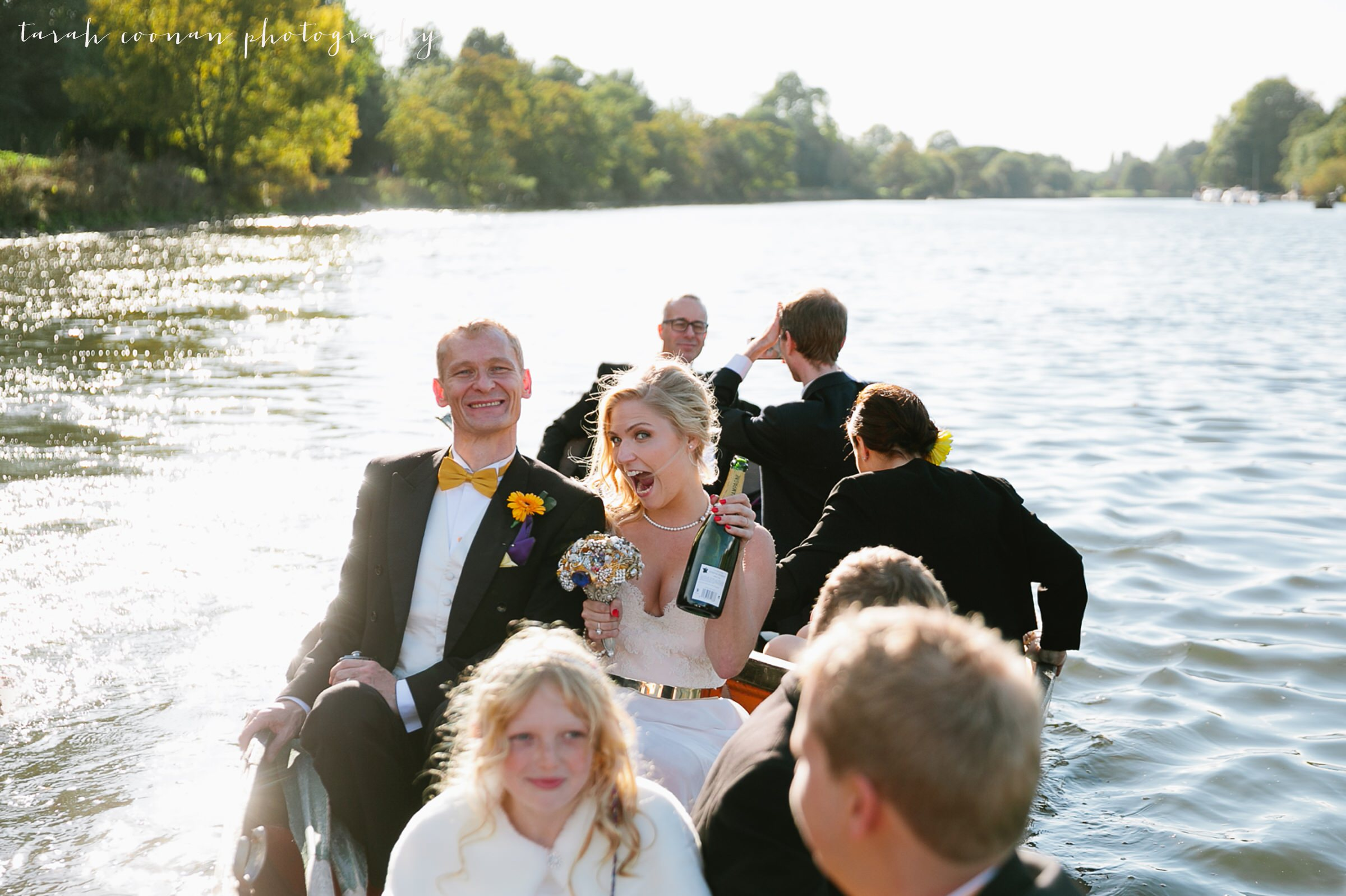 bridal party boat