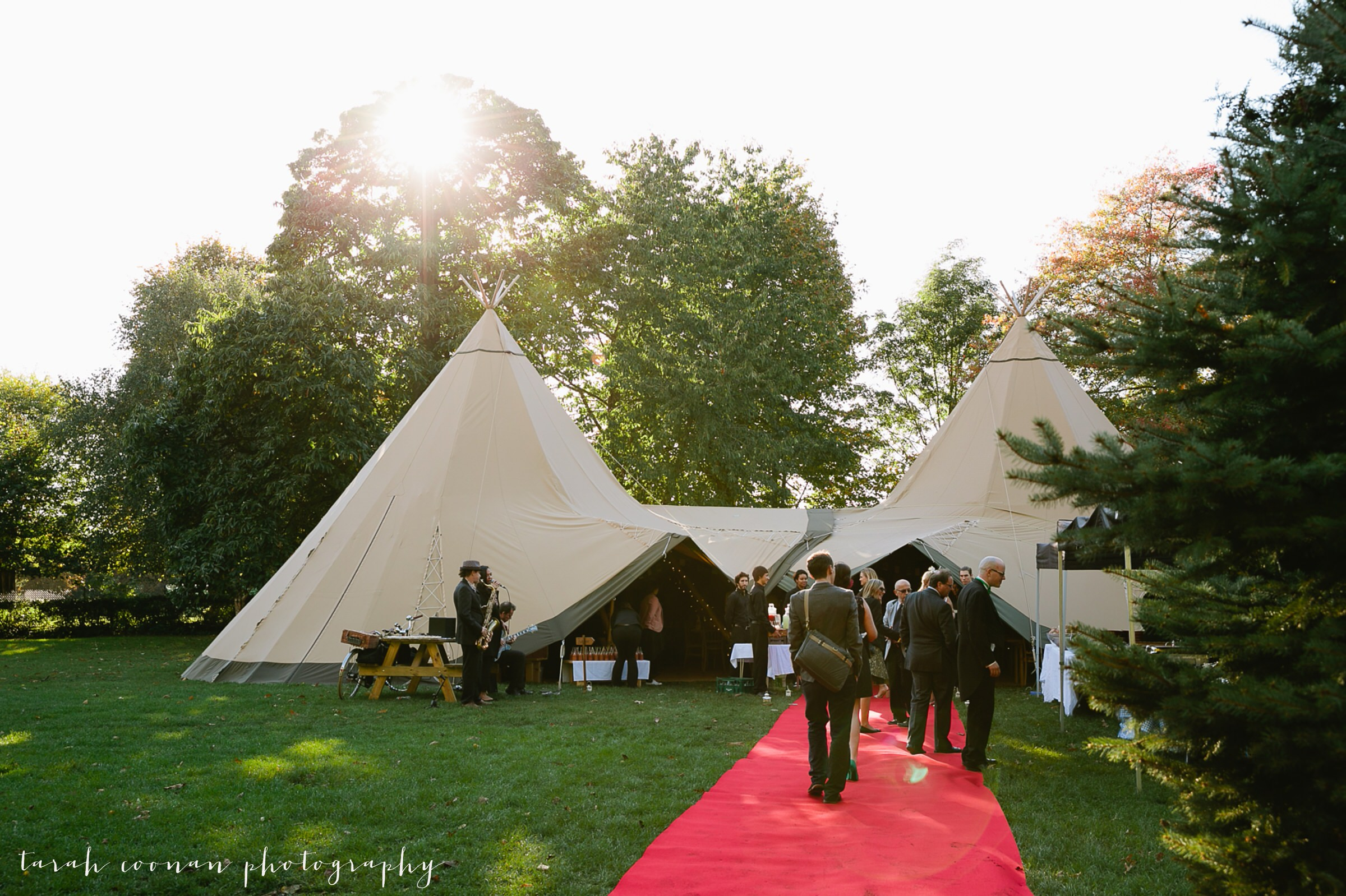 london tipi wedding