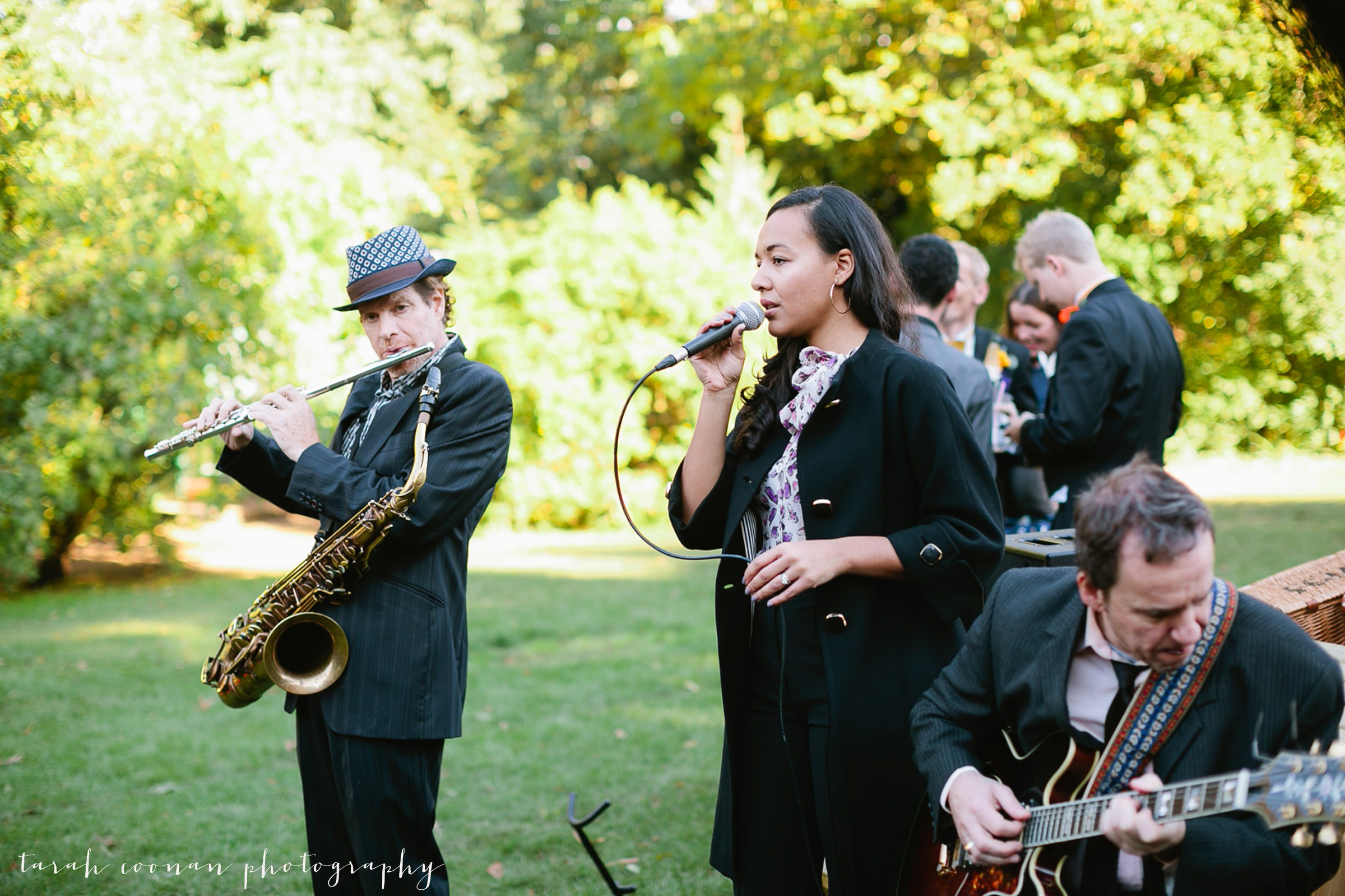 blues band wedding