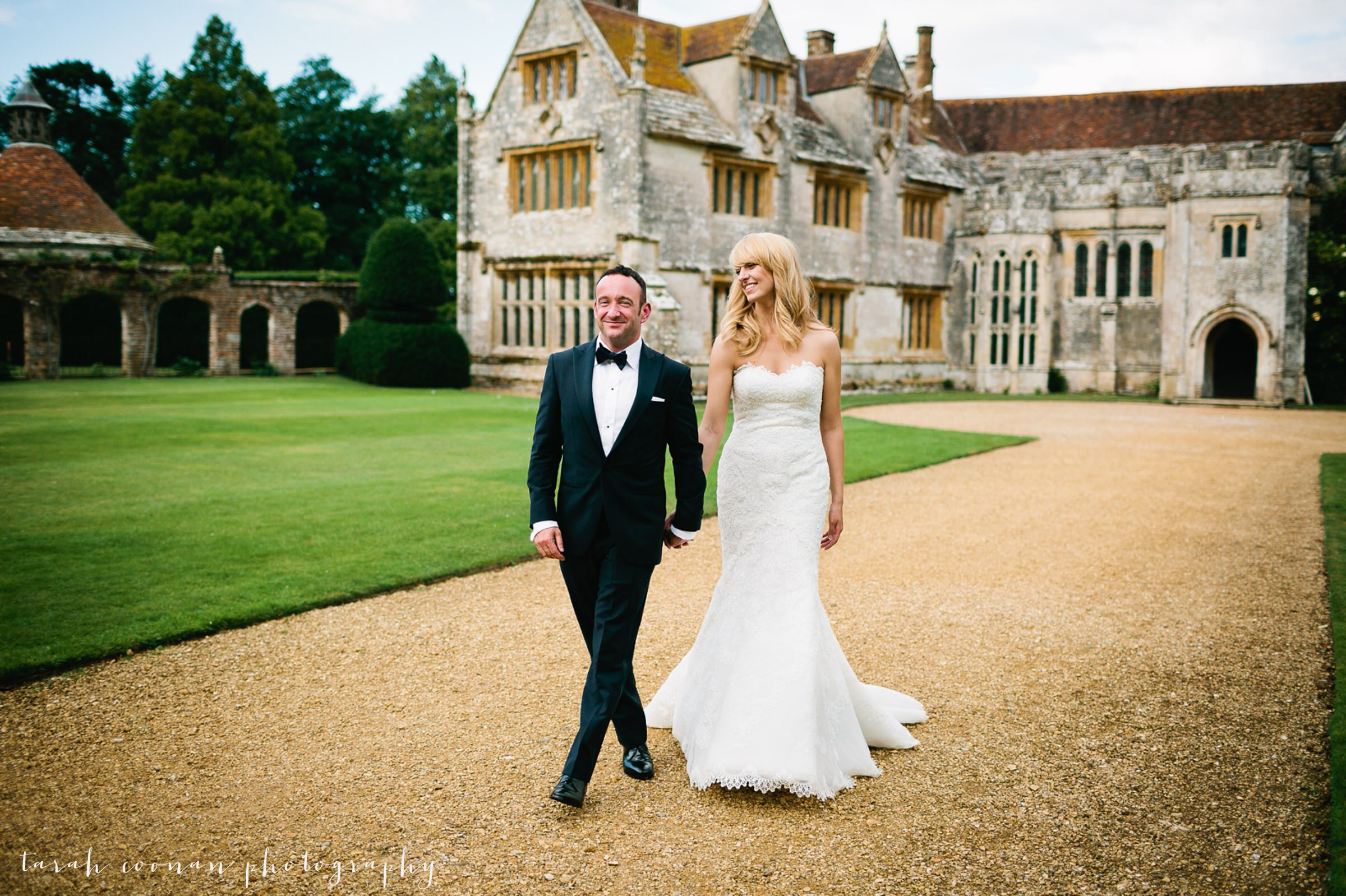 Athelhampton House wedding - Miranda & Steve
