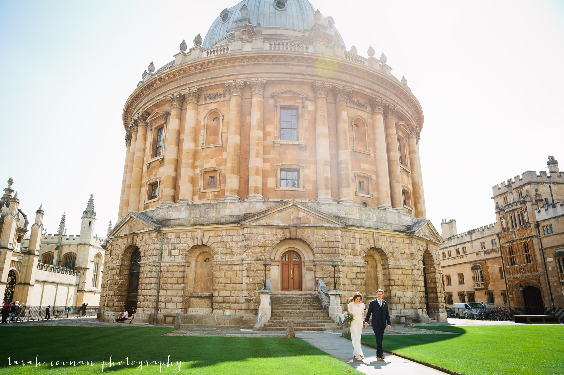 radcliffe camera square oxford wedding