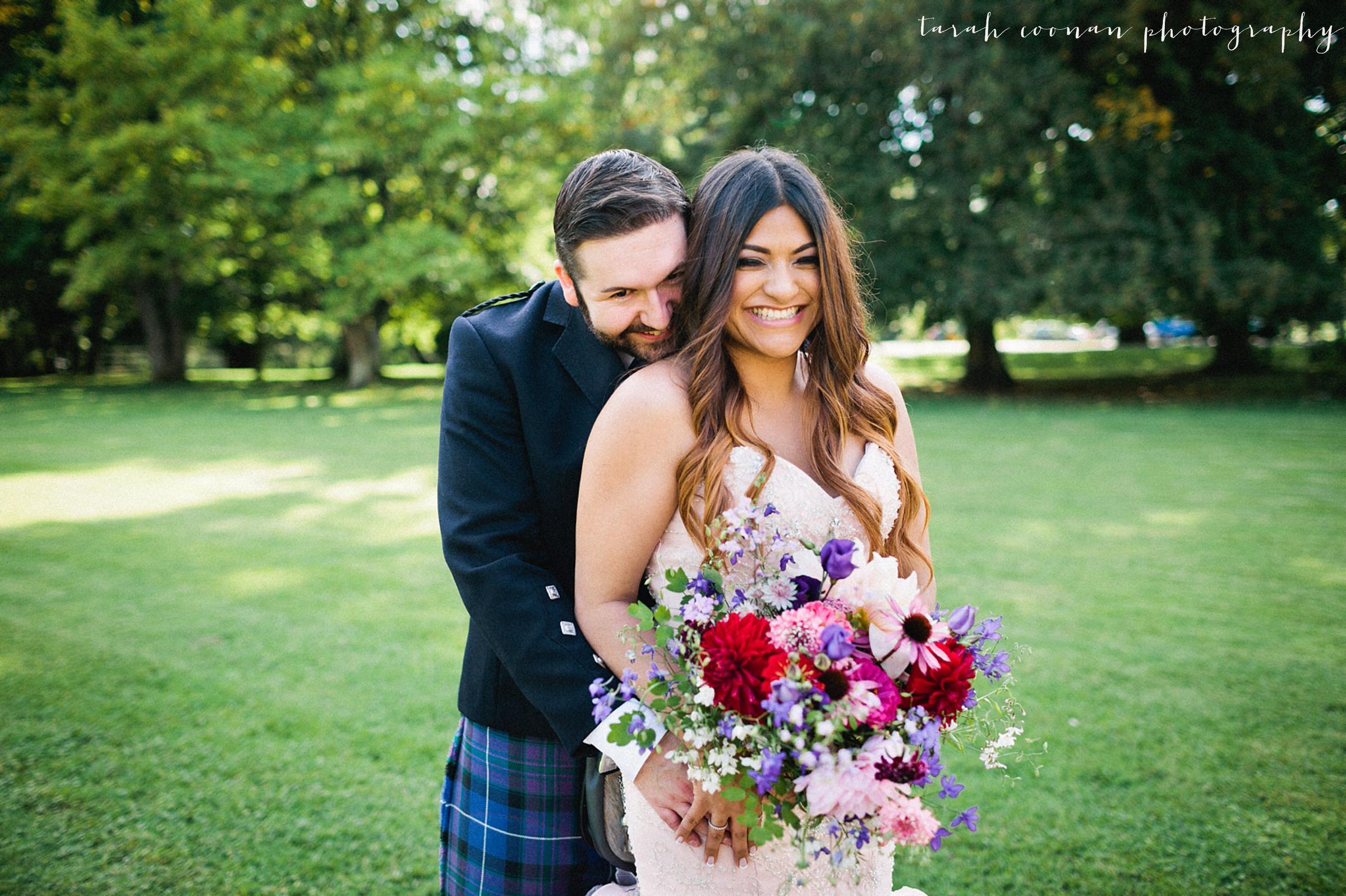 cosmos wedding bouquet