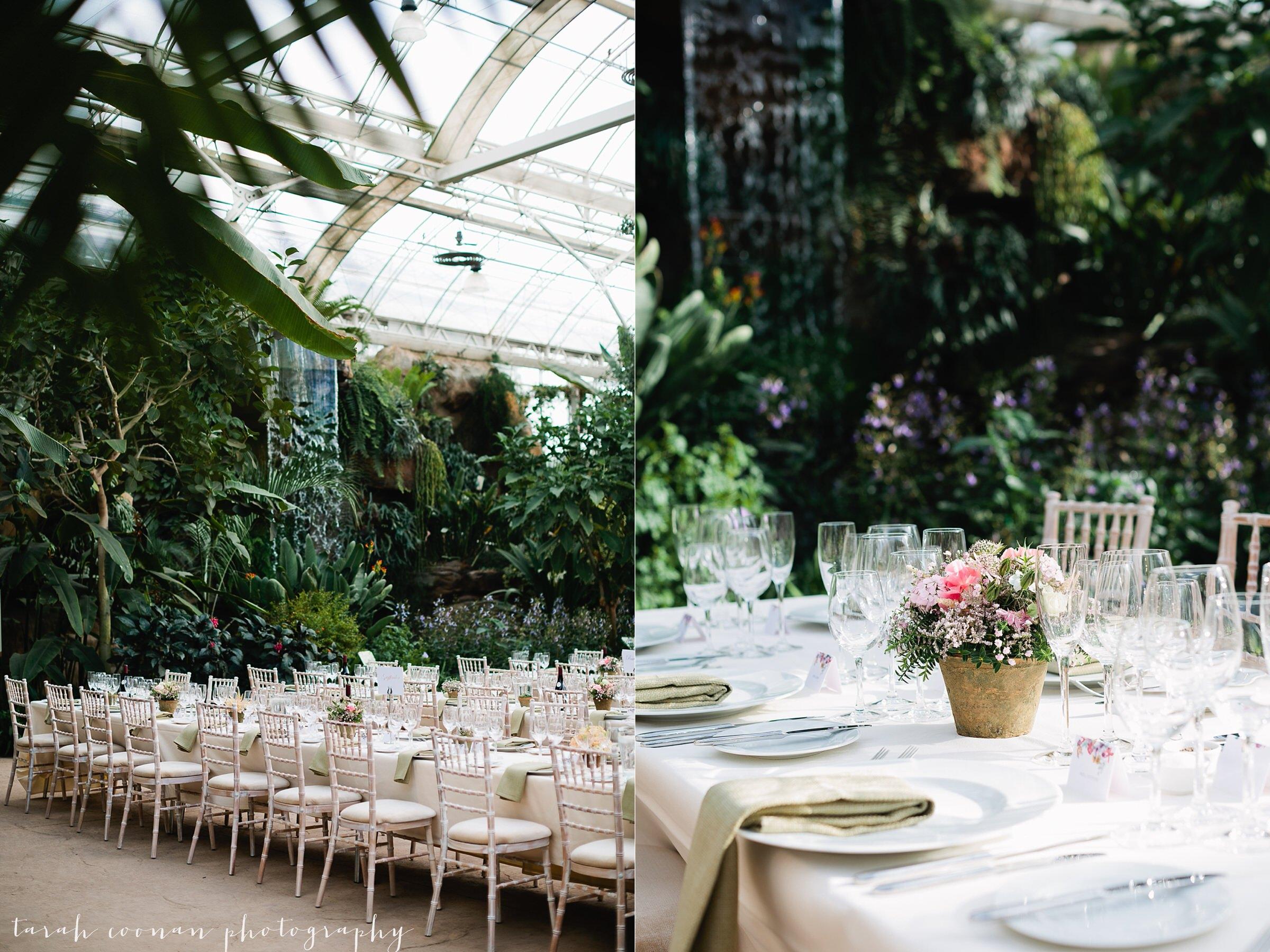 UK glasshouse wedding