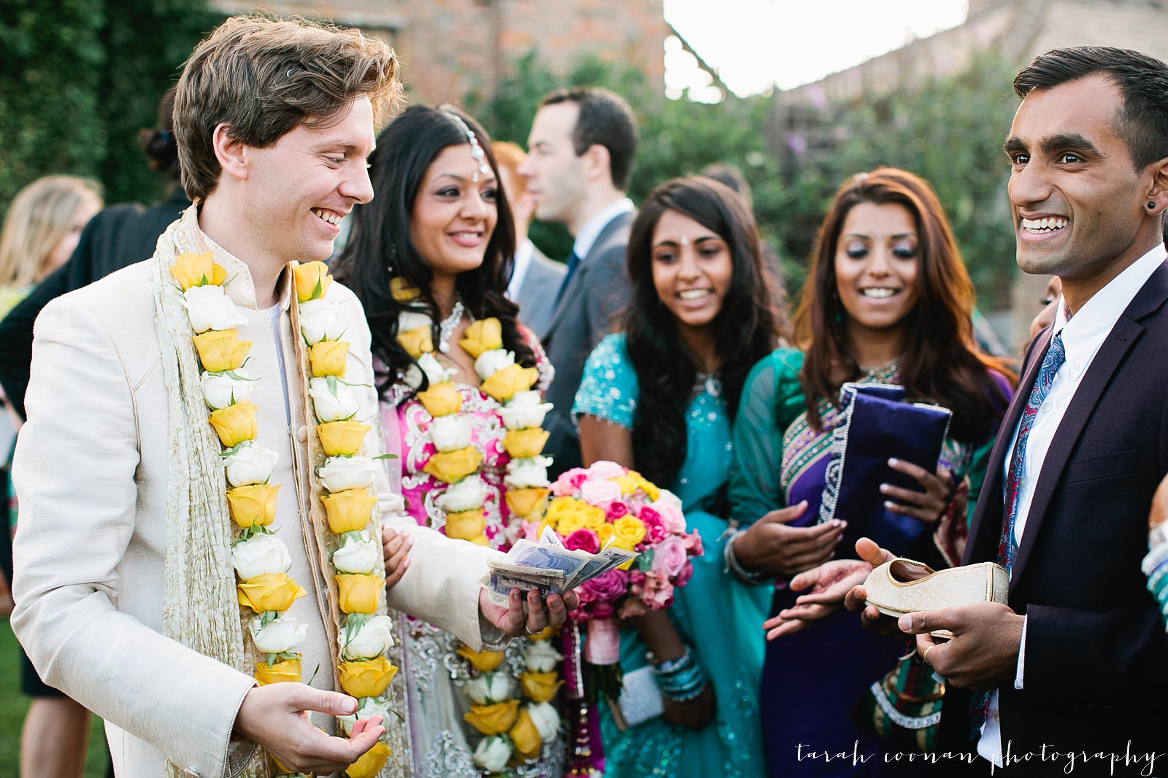 shoe selling indian wedding