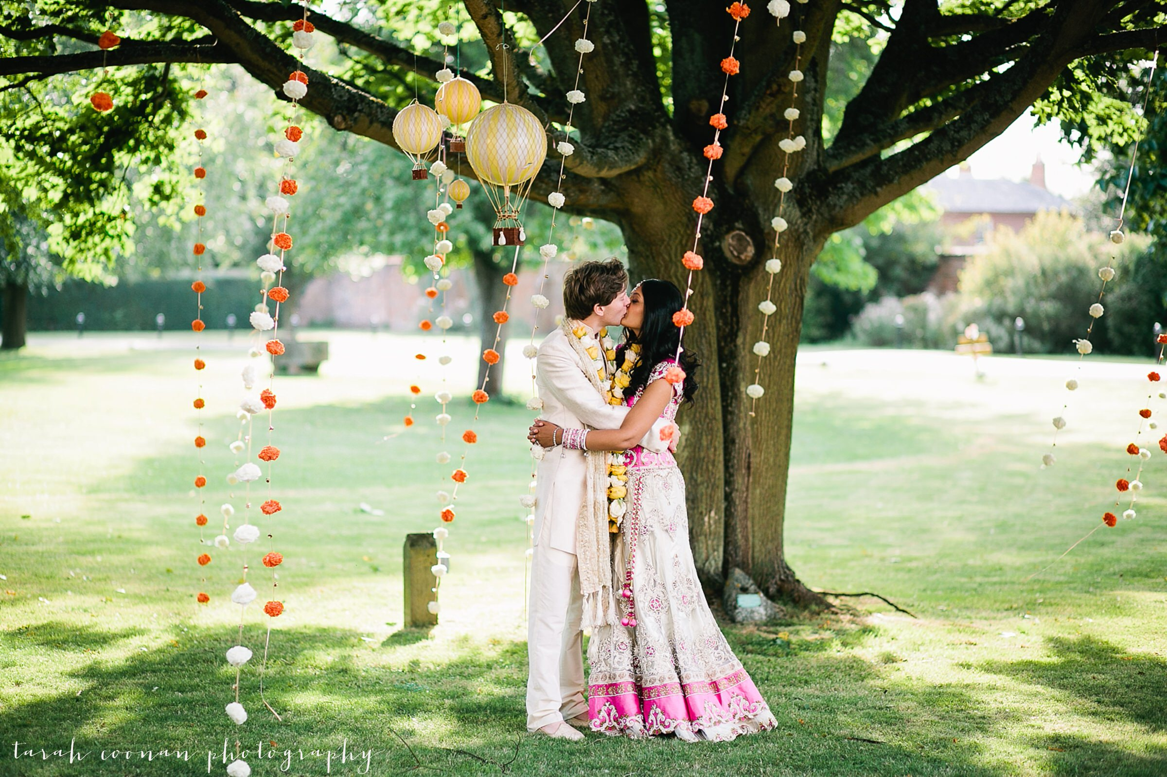 wedding tree garlands