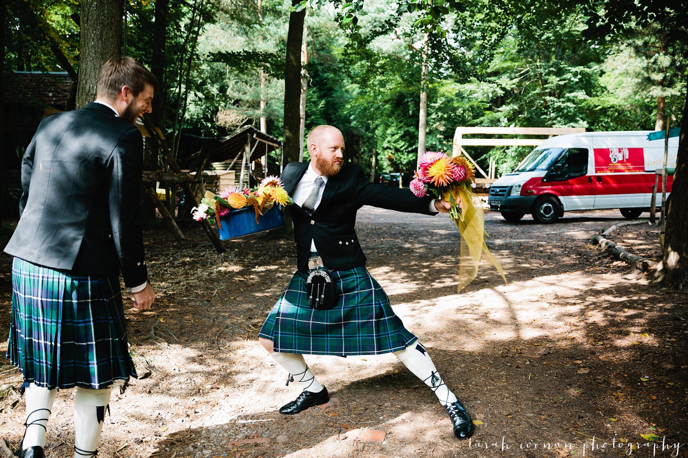 kilt wedding sussex