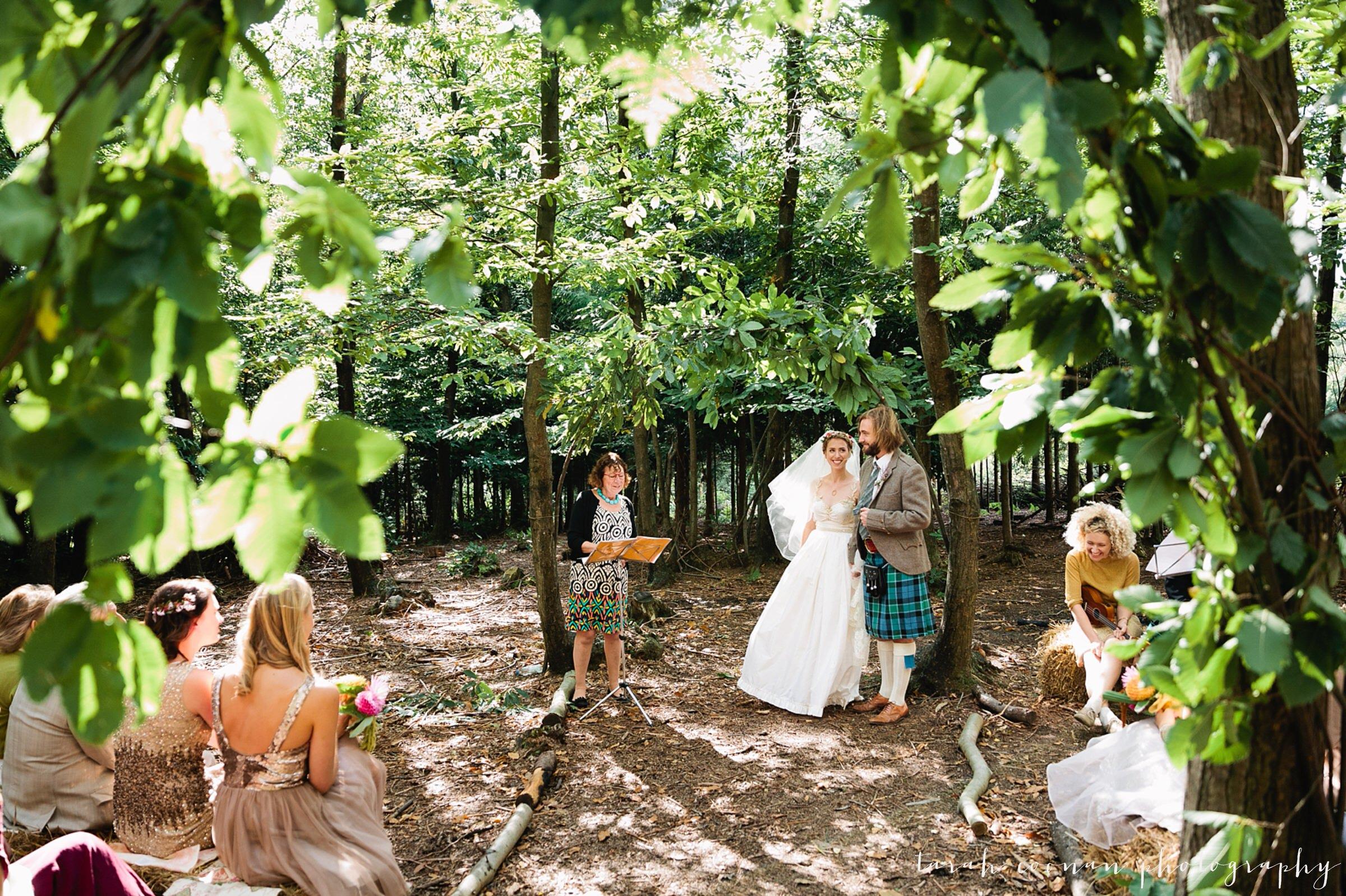 woodland wedding sussex