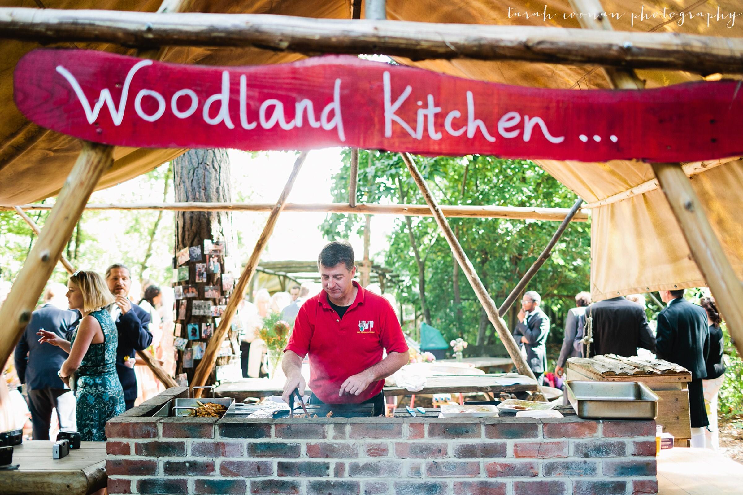 woodland kitchen