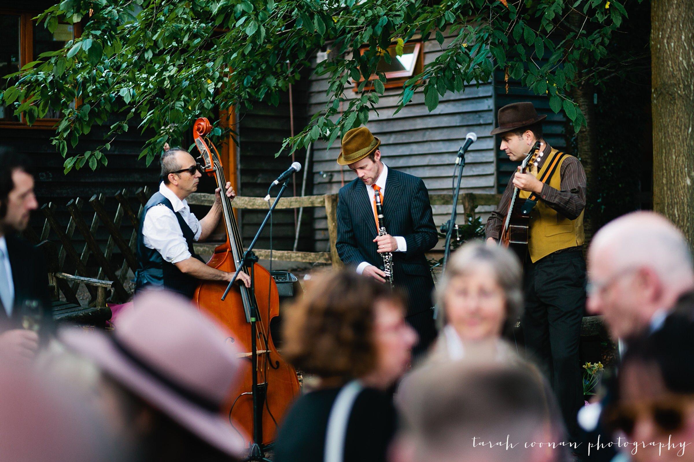 jazz band wedding