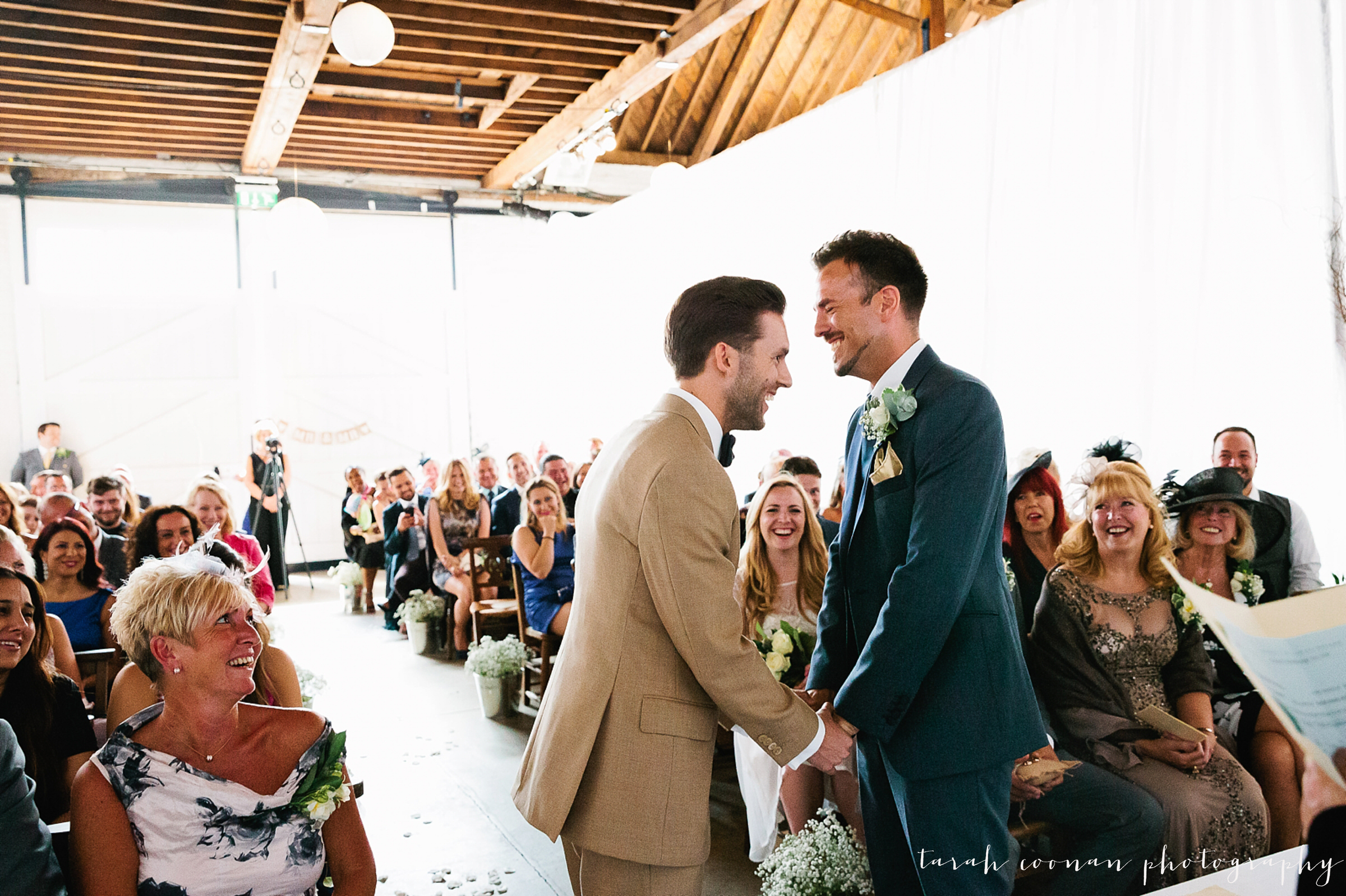 two guys get married
