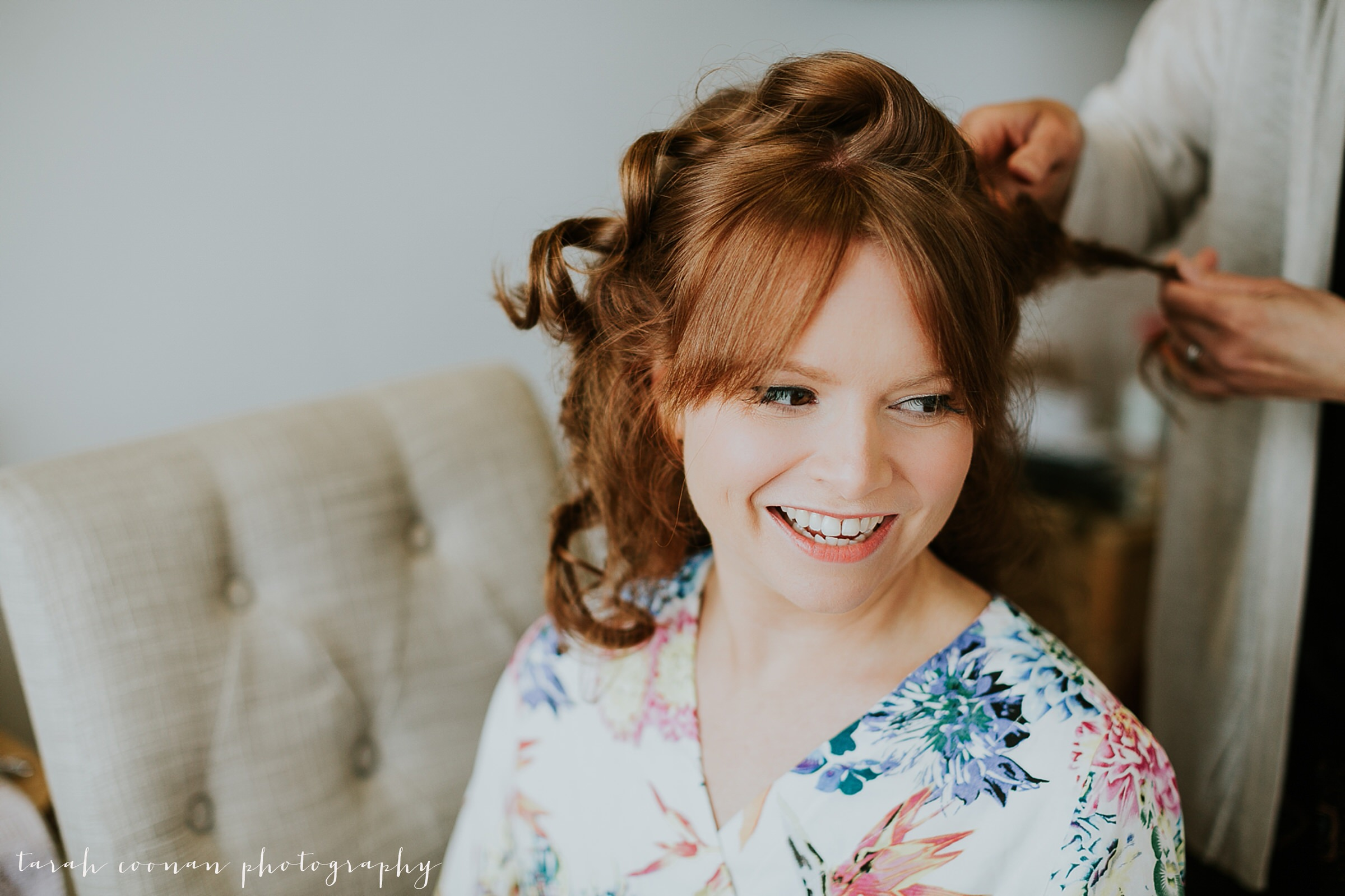 red haired bride