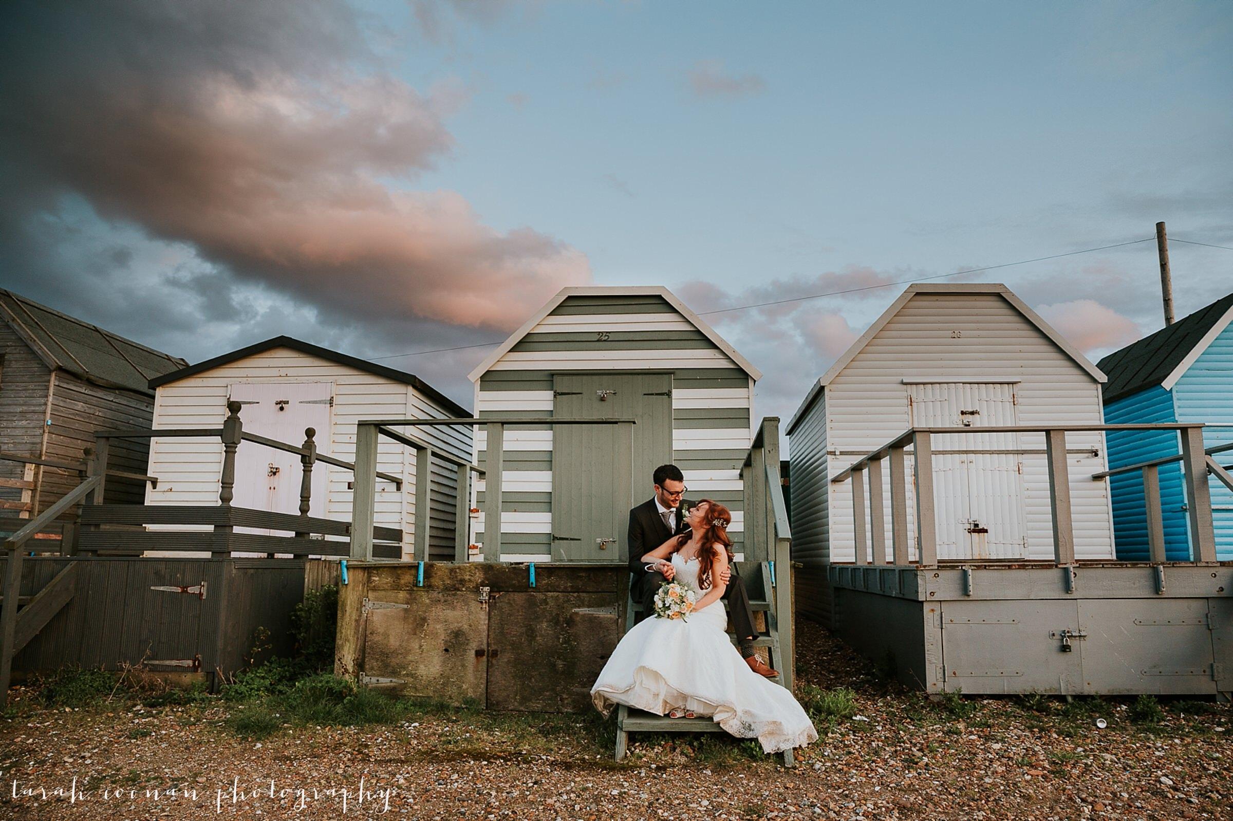 uk beach wedding