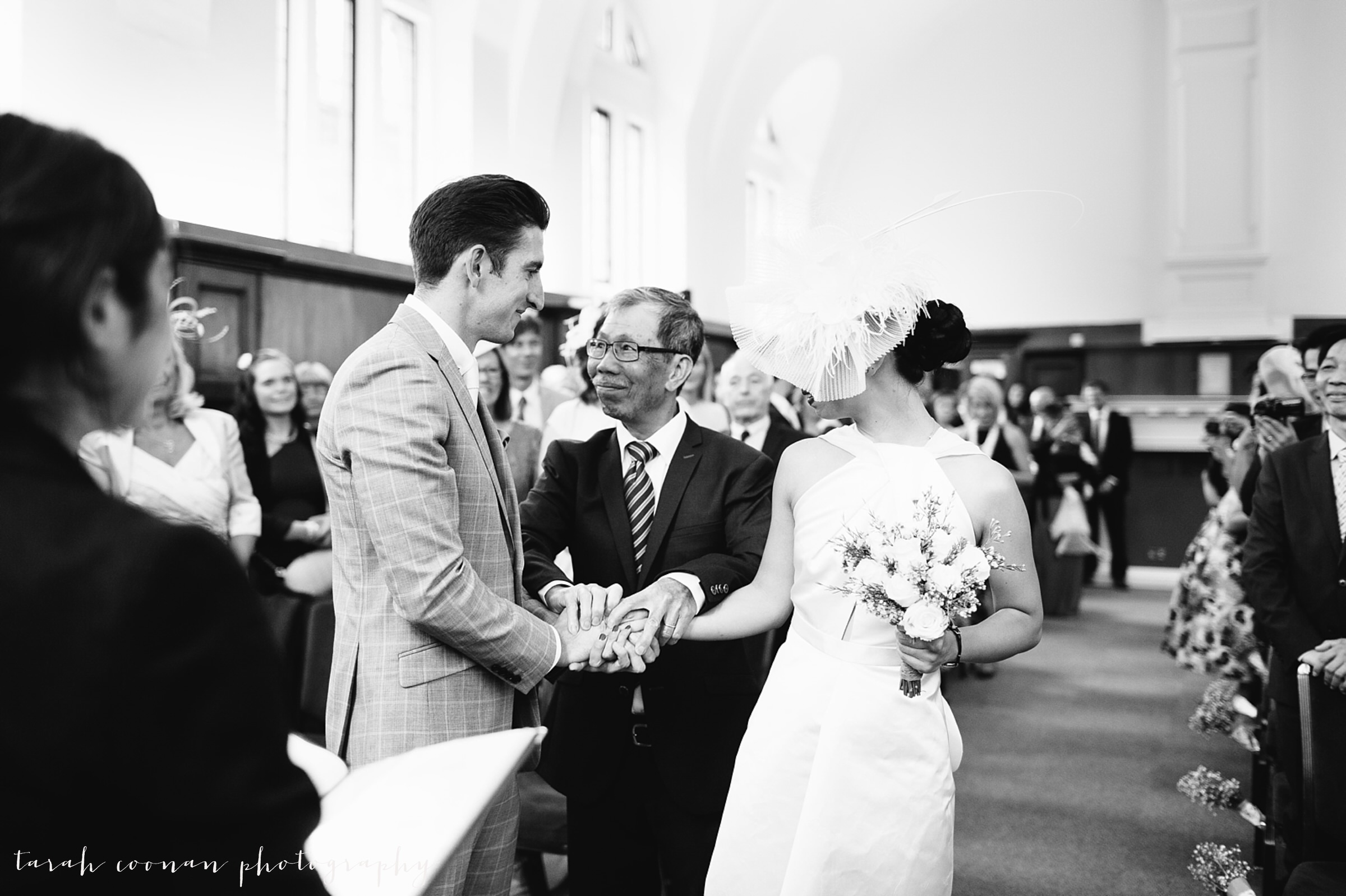 dulwich college wedding ceremony
