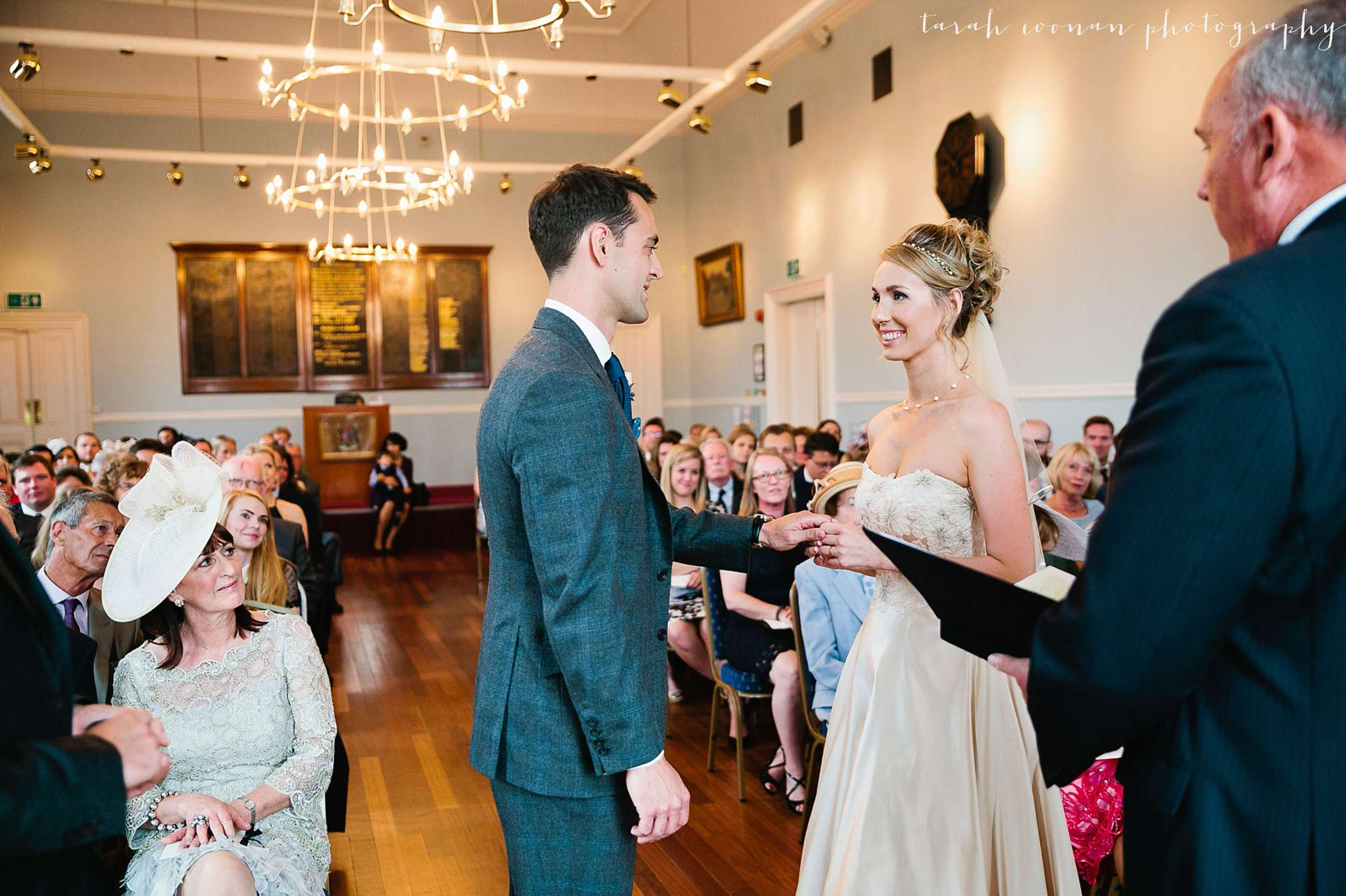 Romsey Town Hall wedding