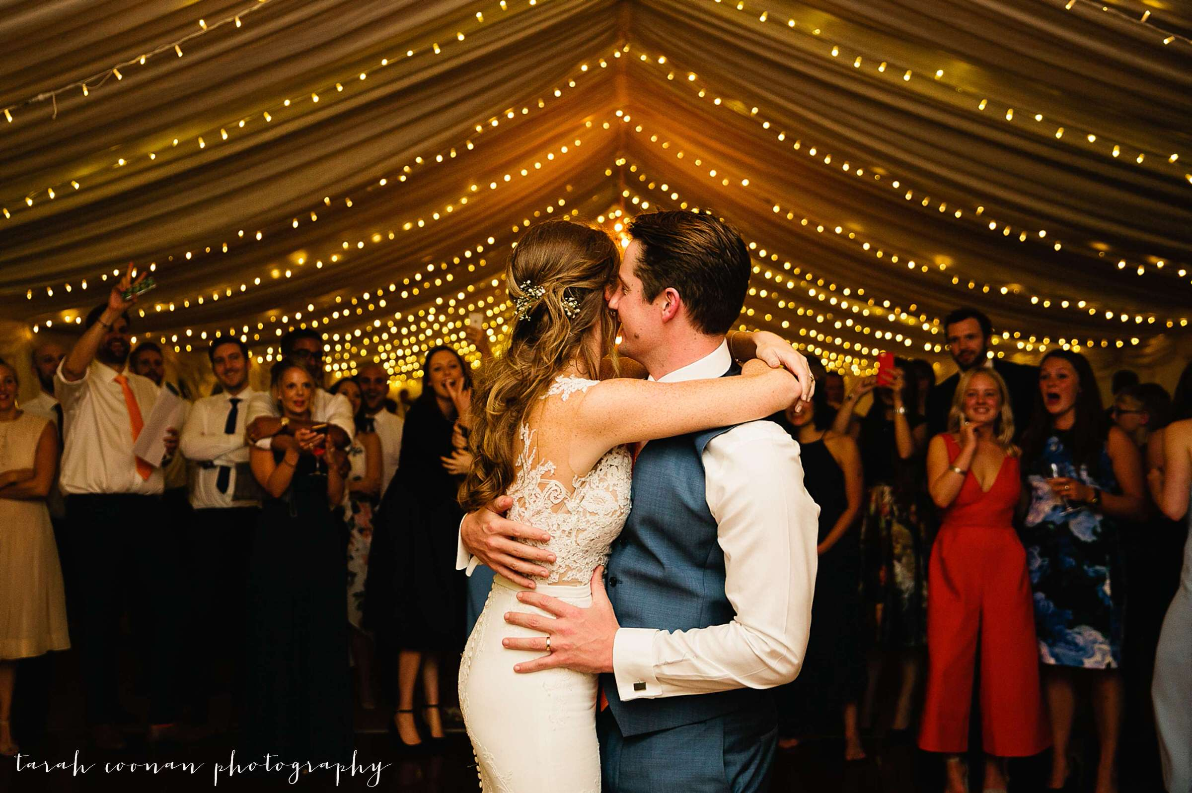 first dance fairylights