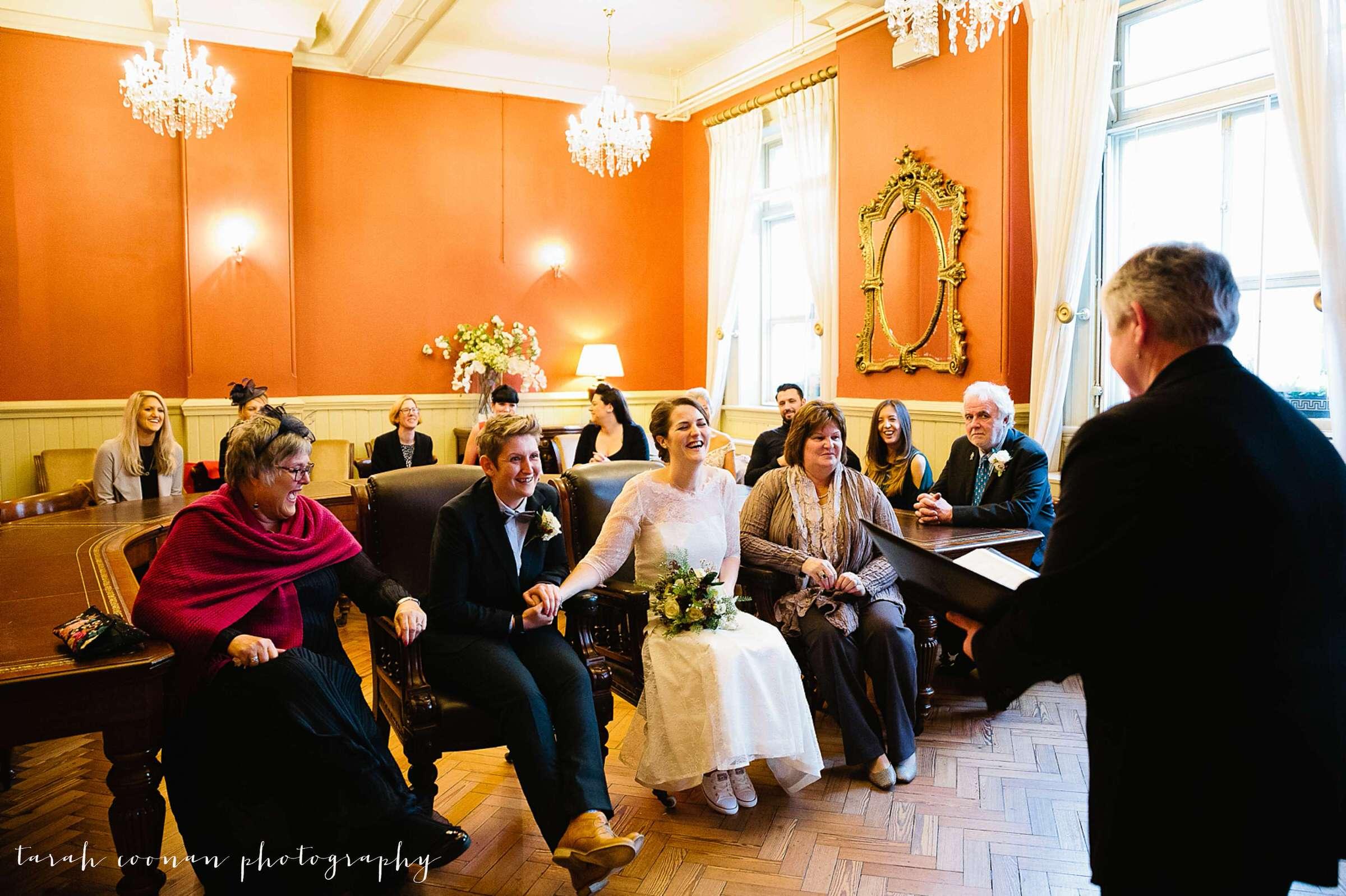Brighton town hall wedding