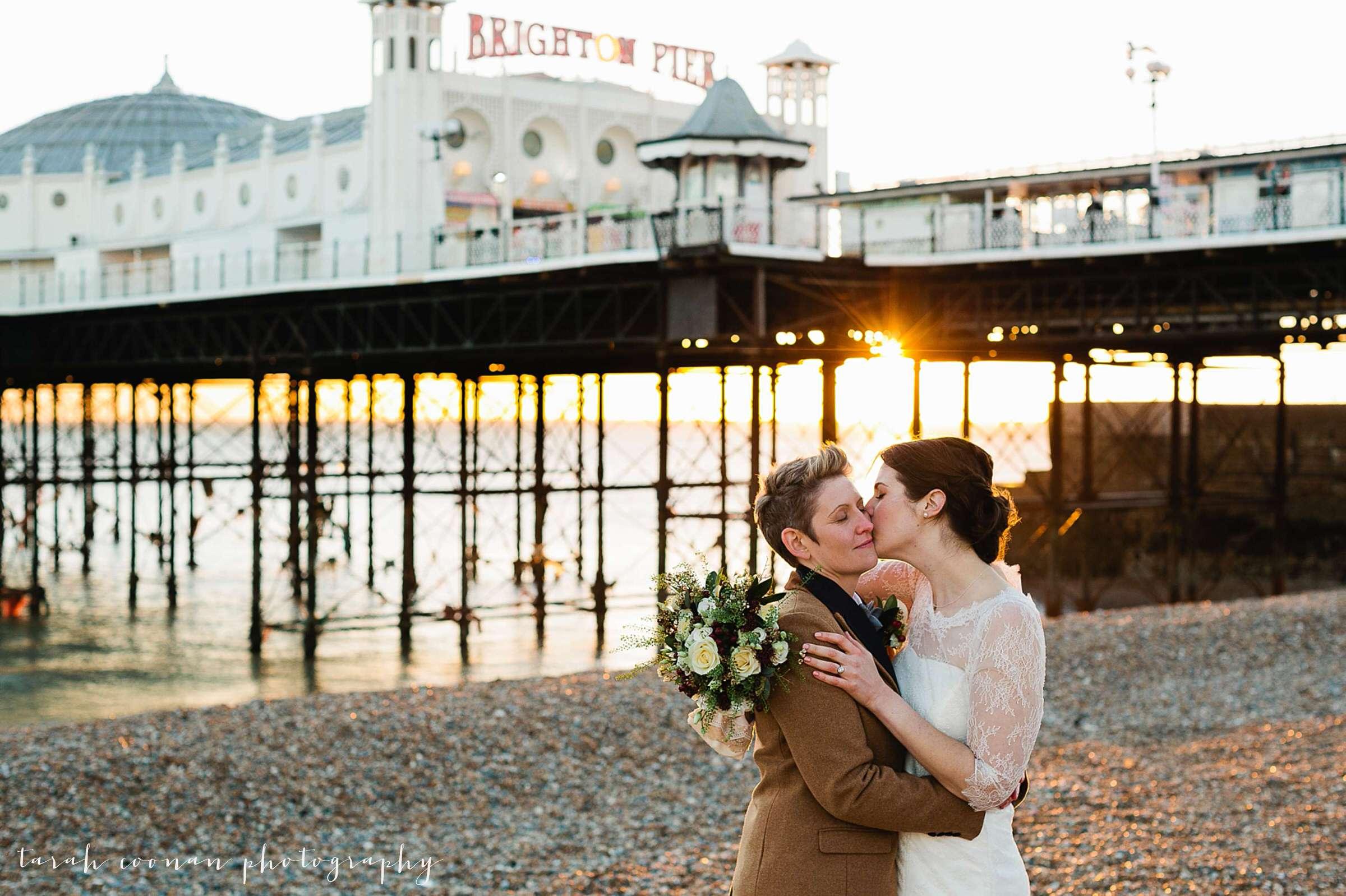 Brighton wedding - Clare & Lisa