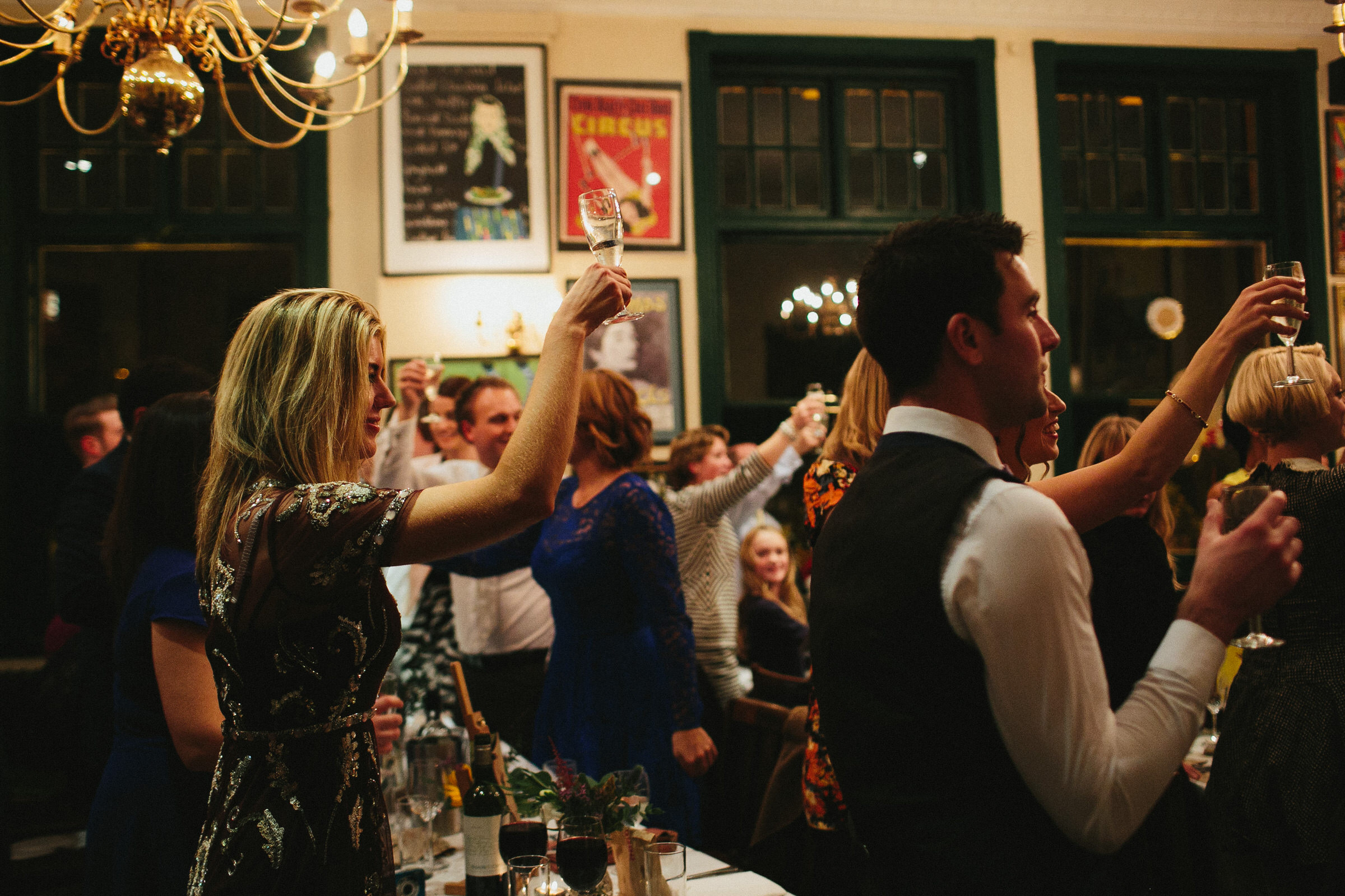 Peasant pub wedding - Amy & Barney