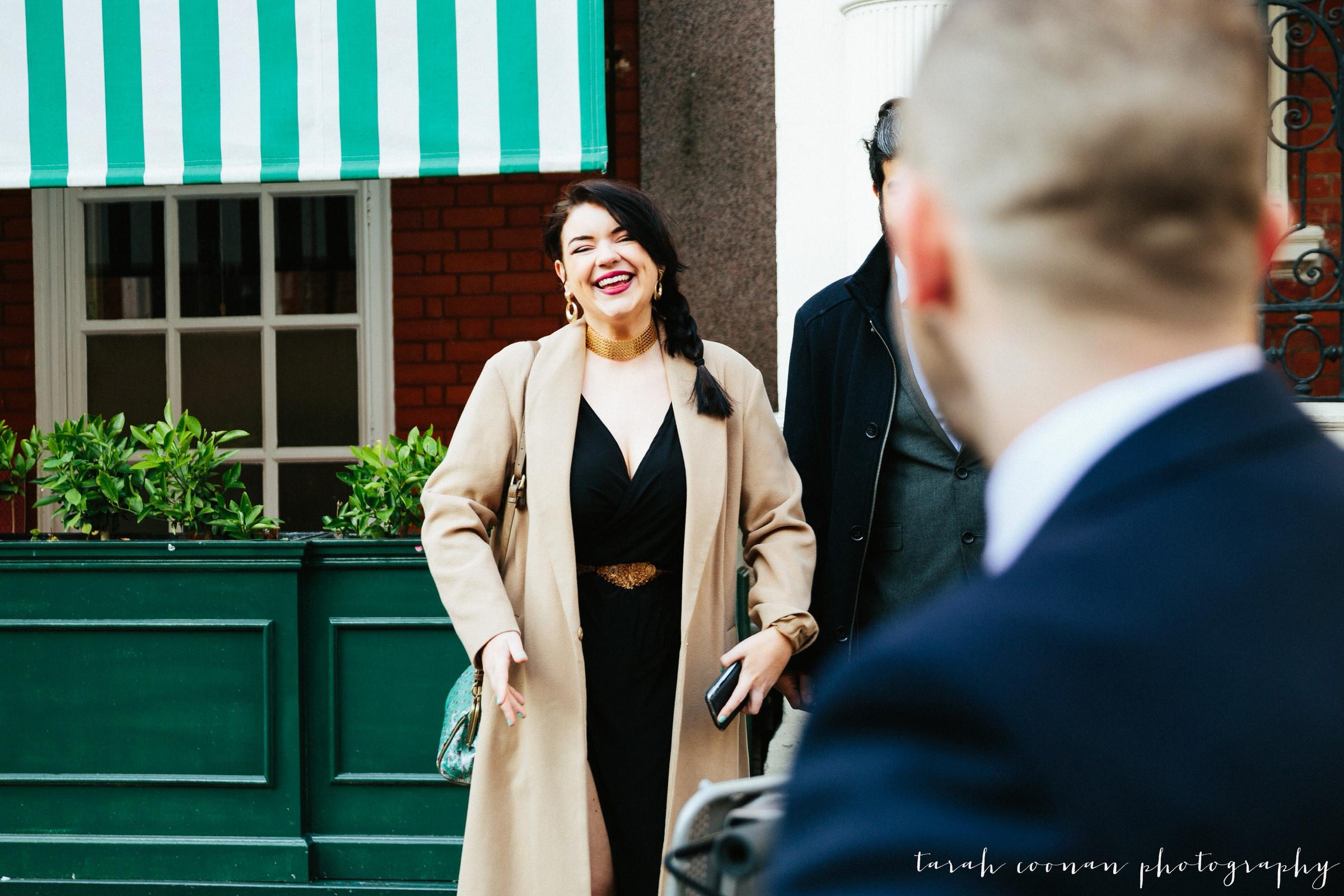 Mayfair Library wedding - Jo & Stephen