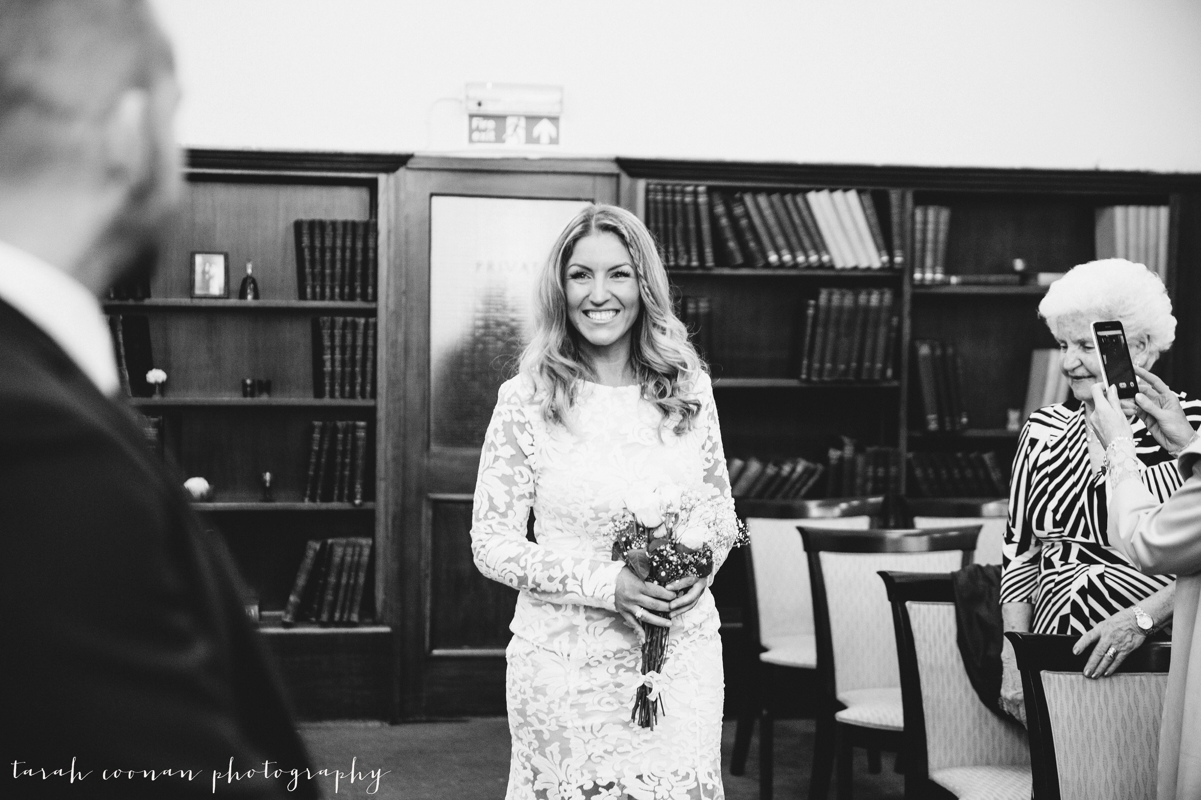 Mayfair Library wedding - Jo & Stephen