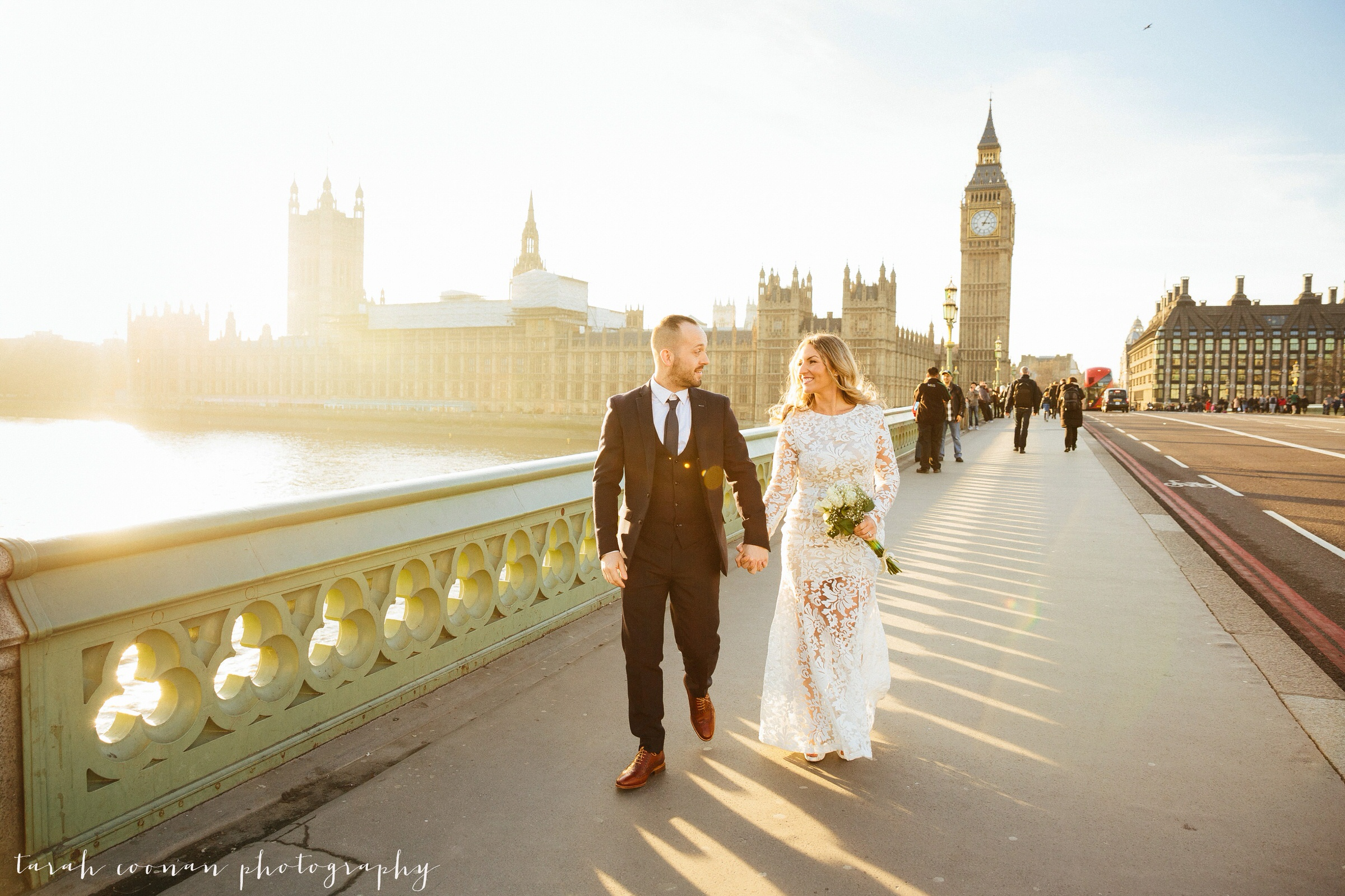 Westminster Bridge photoshoot
