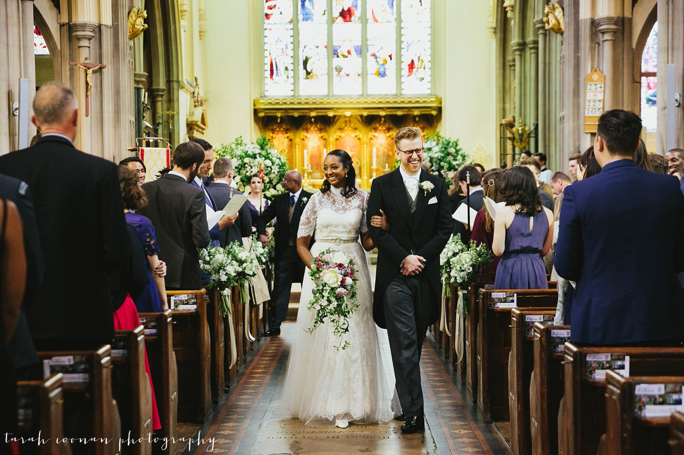 Fulham church wedding