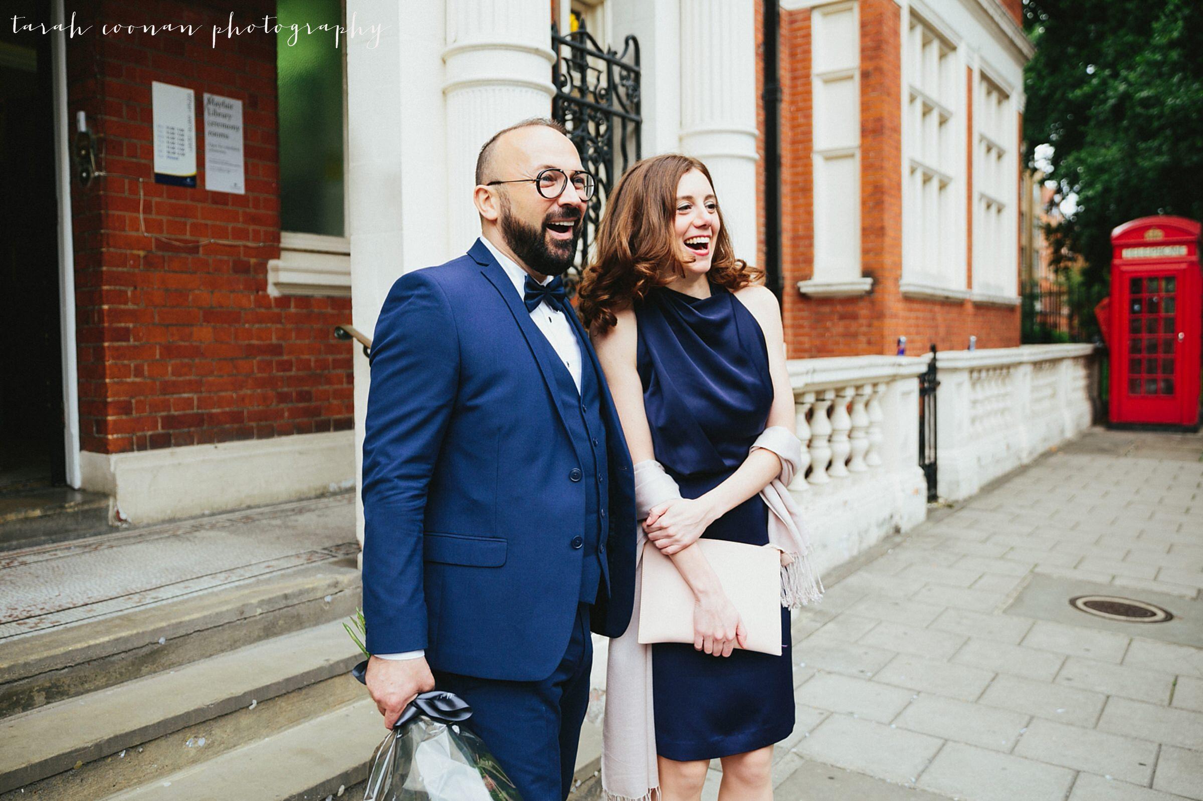 Mayfair Library Elopement - Alex and Brendan