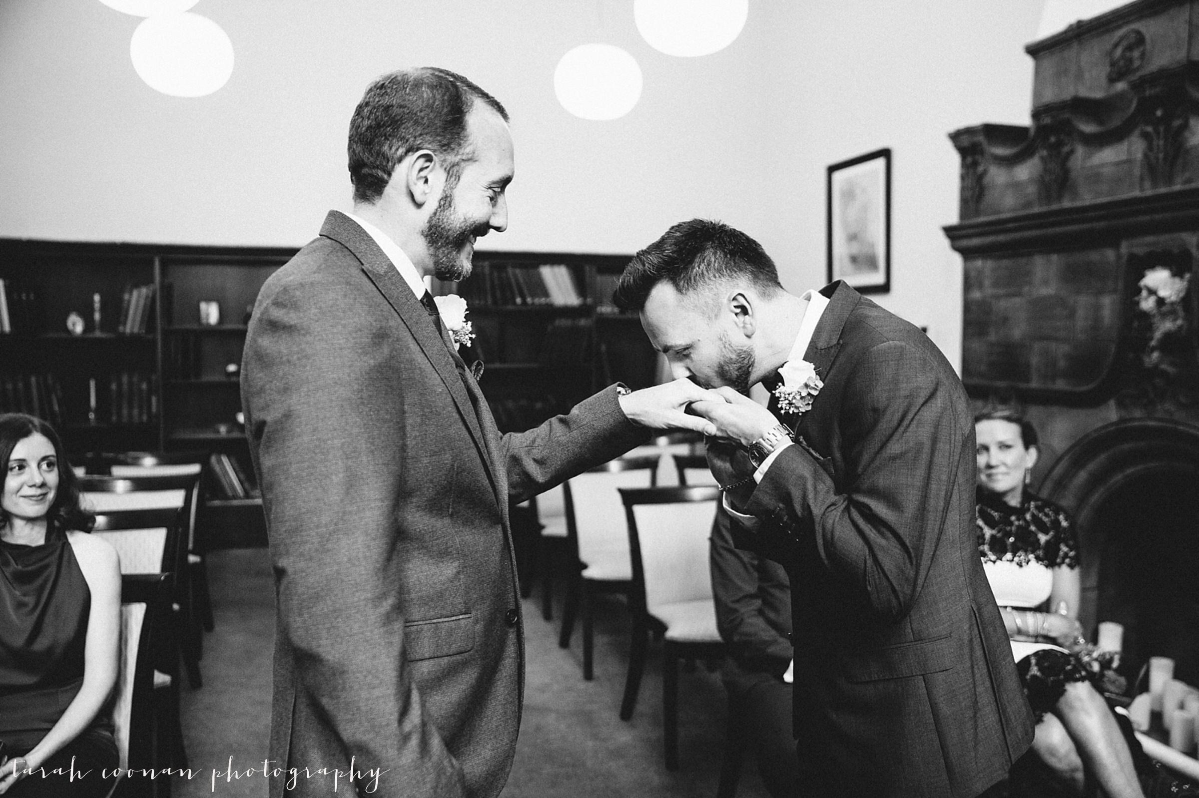 Gay wedding London