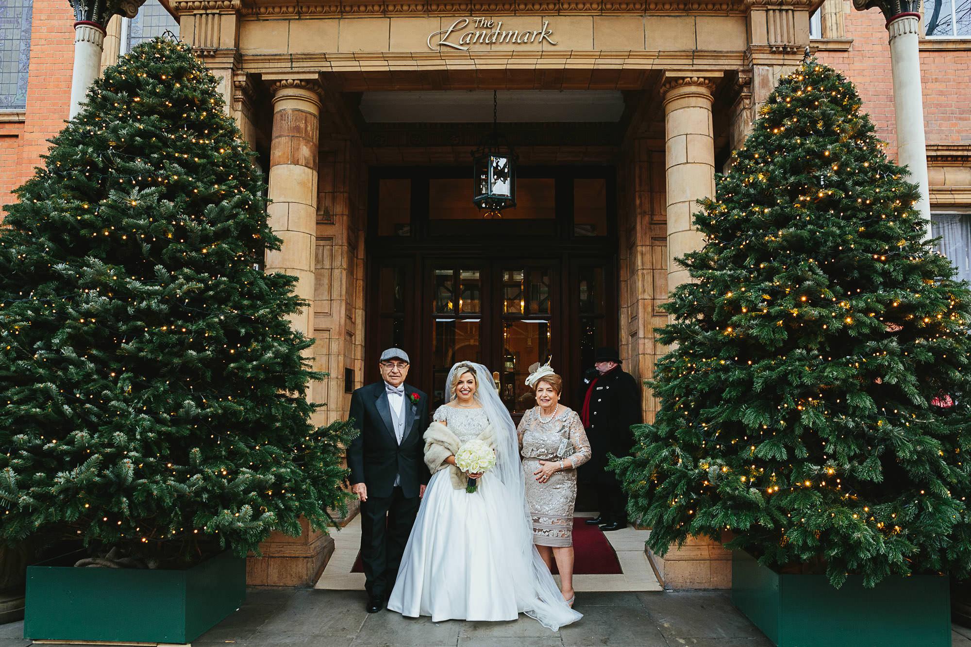 Landmark Hotel London wedding