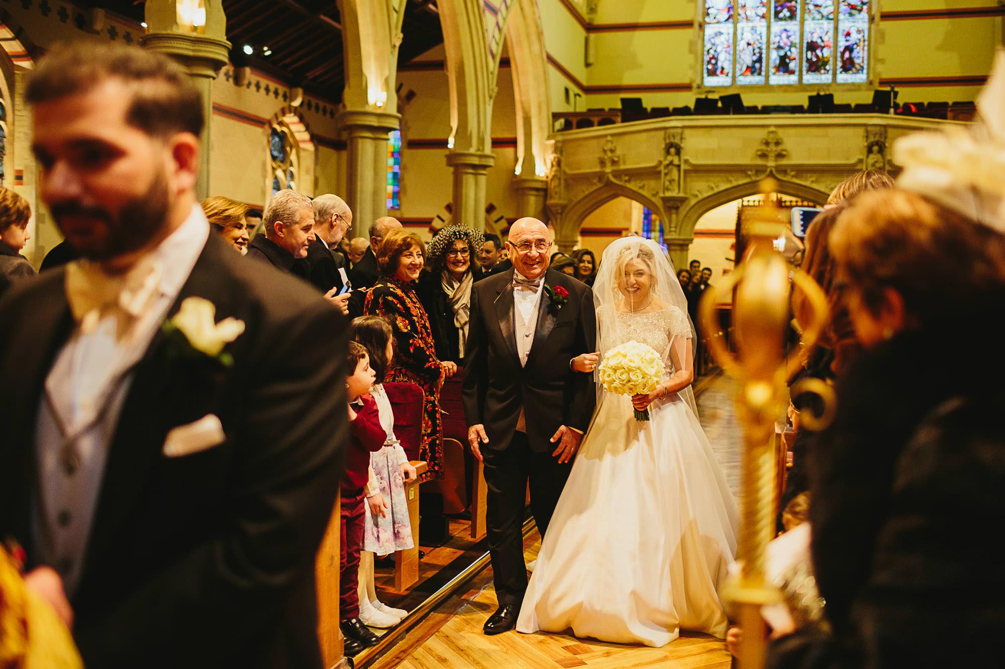 Saint Yeghiche's Armenian Church wedding