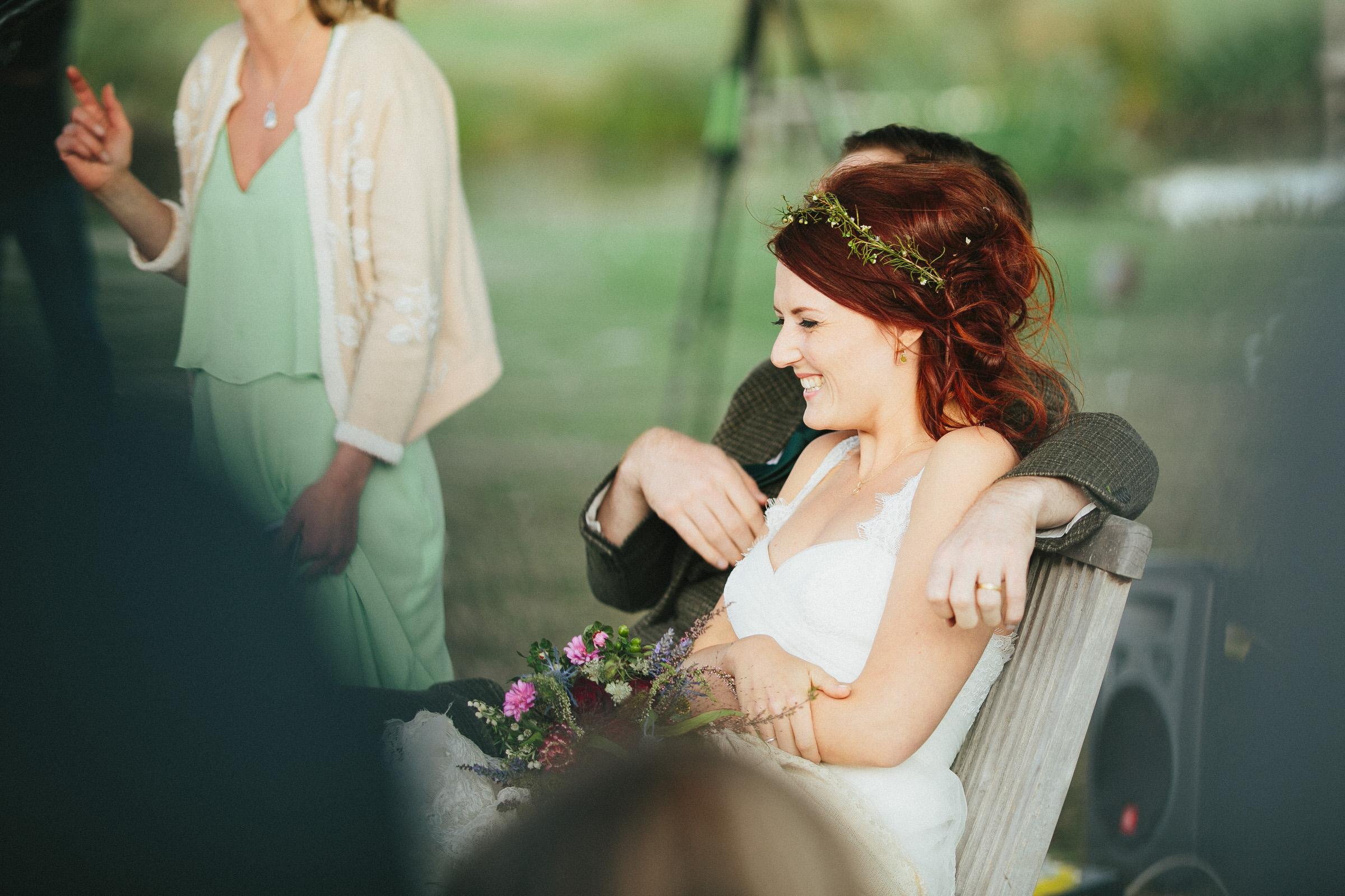 Festival Wedding Photographer - Sam & Ant