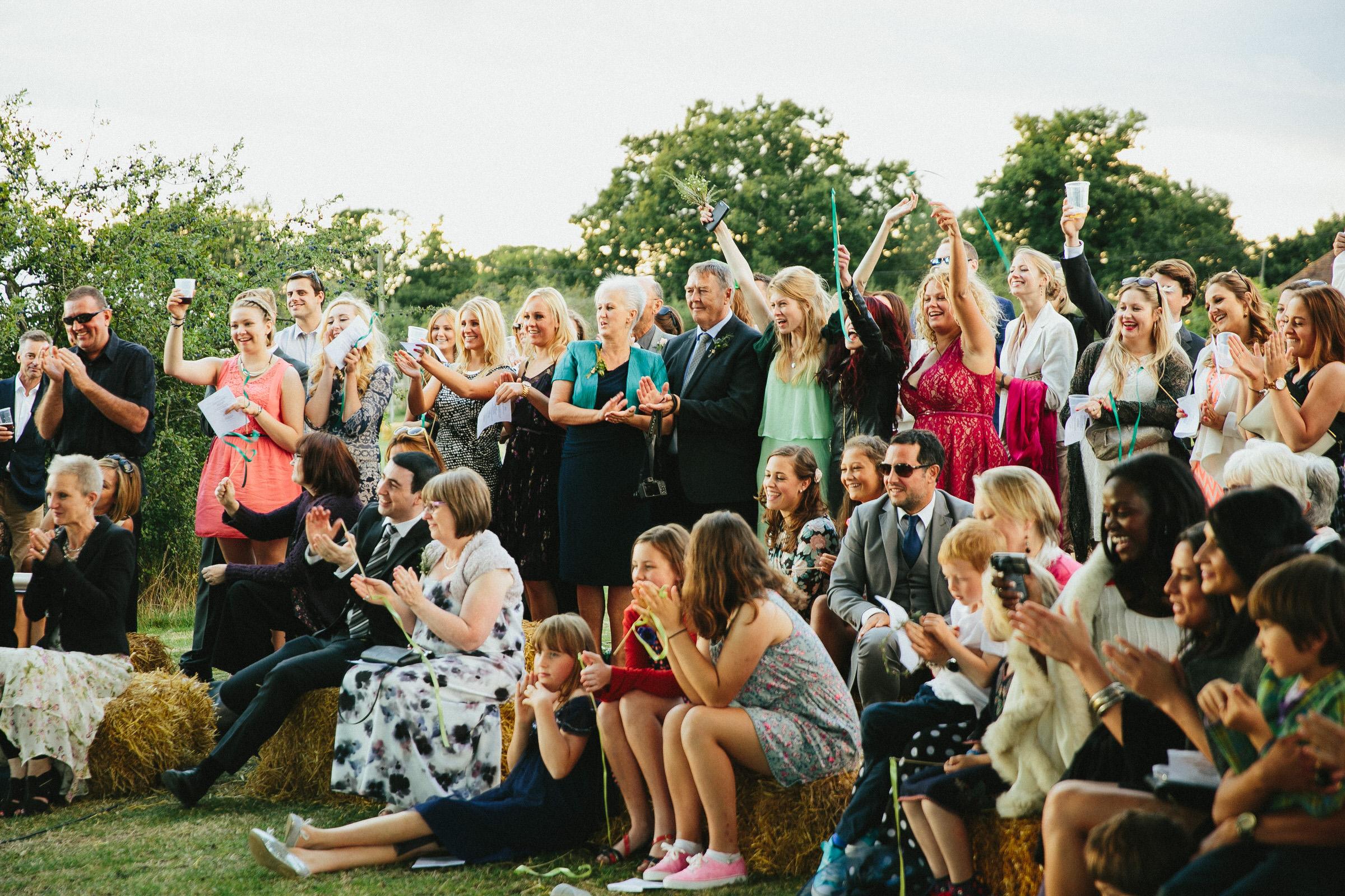 sing a long wedding