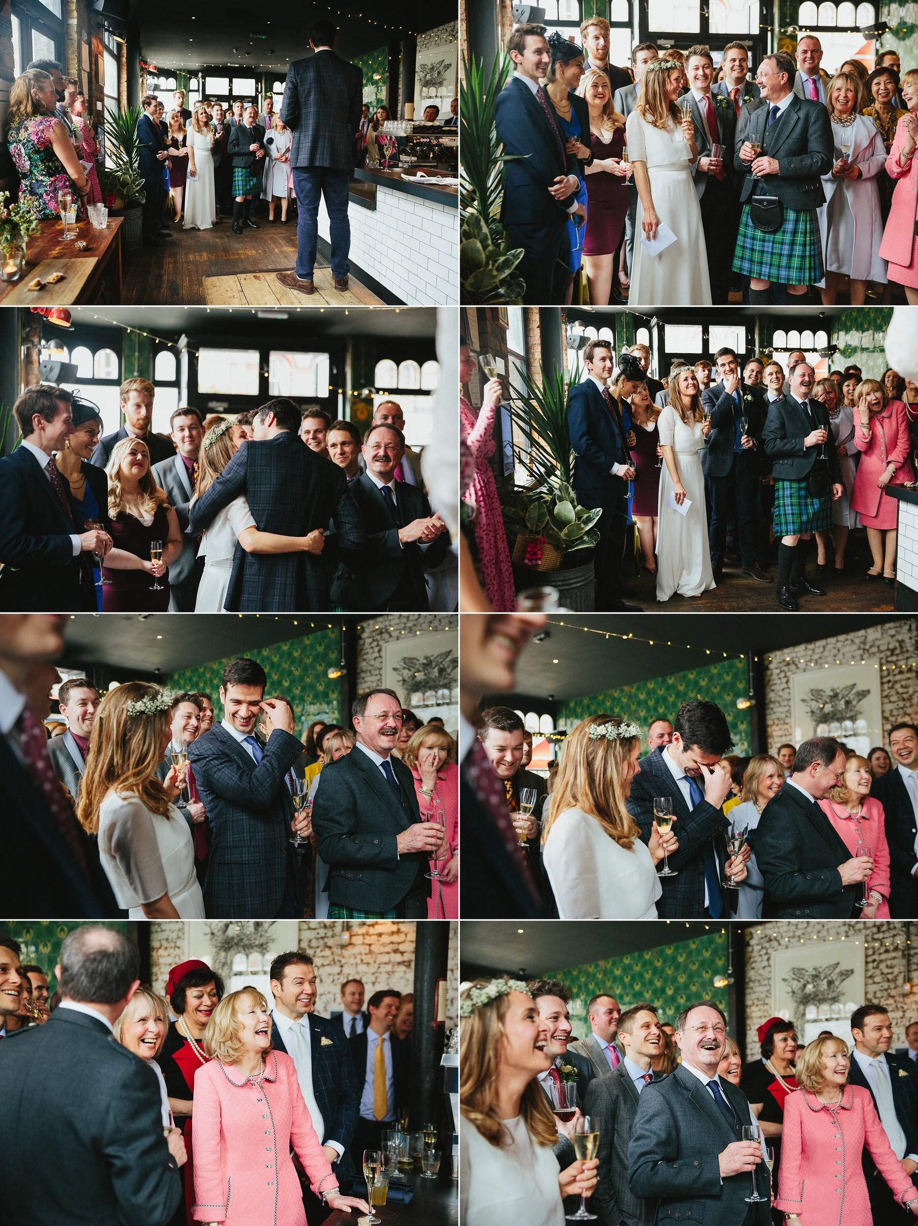 The Elgin pub wedding