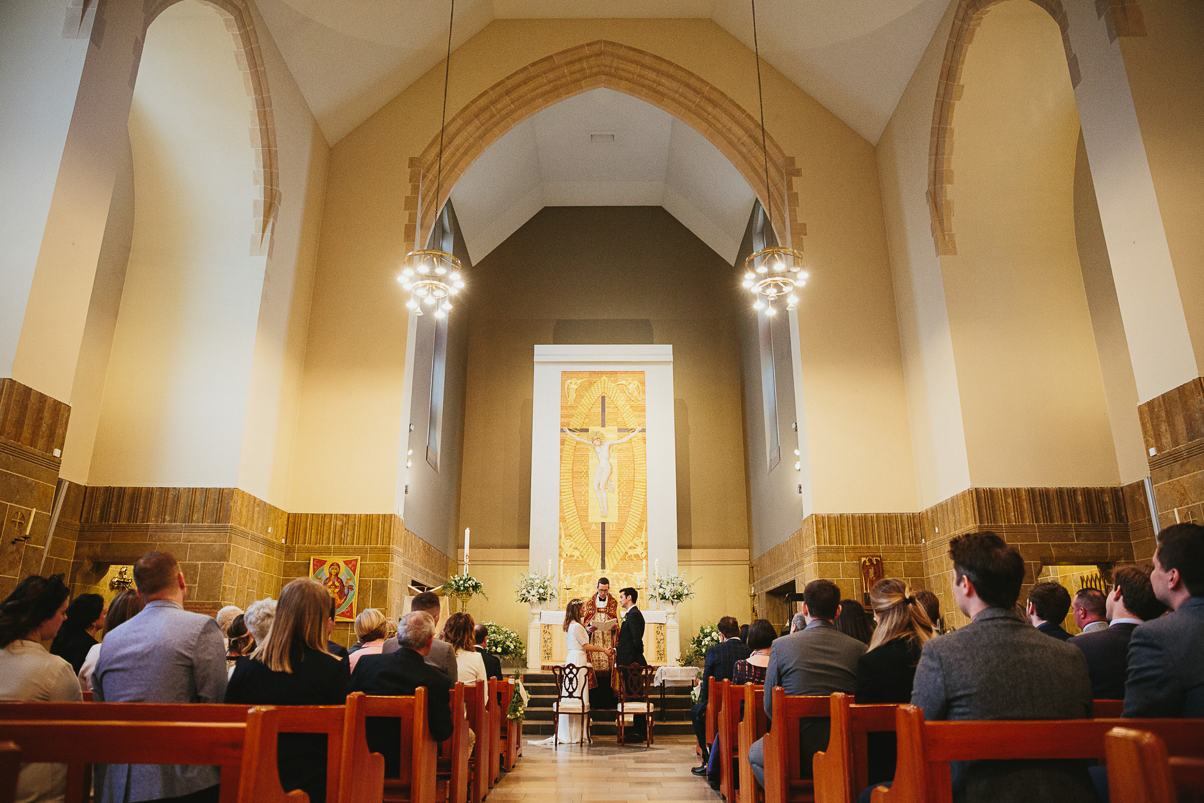 Our Lady of Victories Kensington wedding