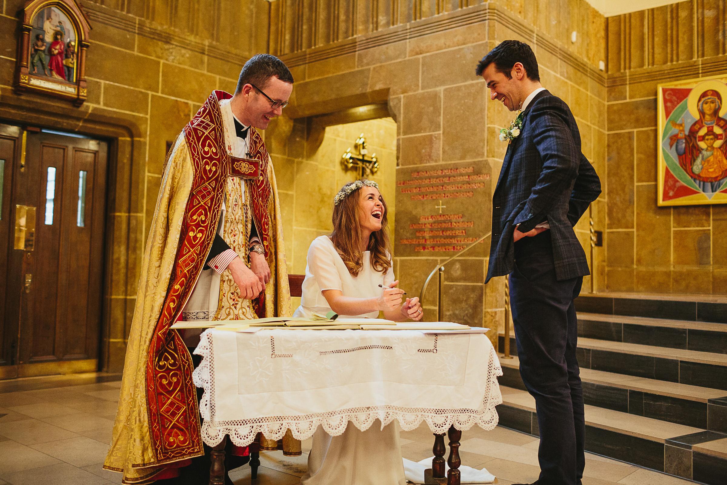 signing the register kensington