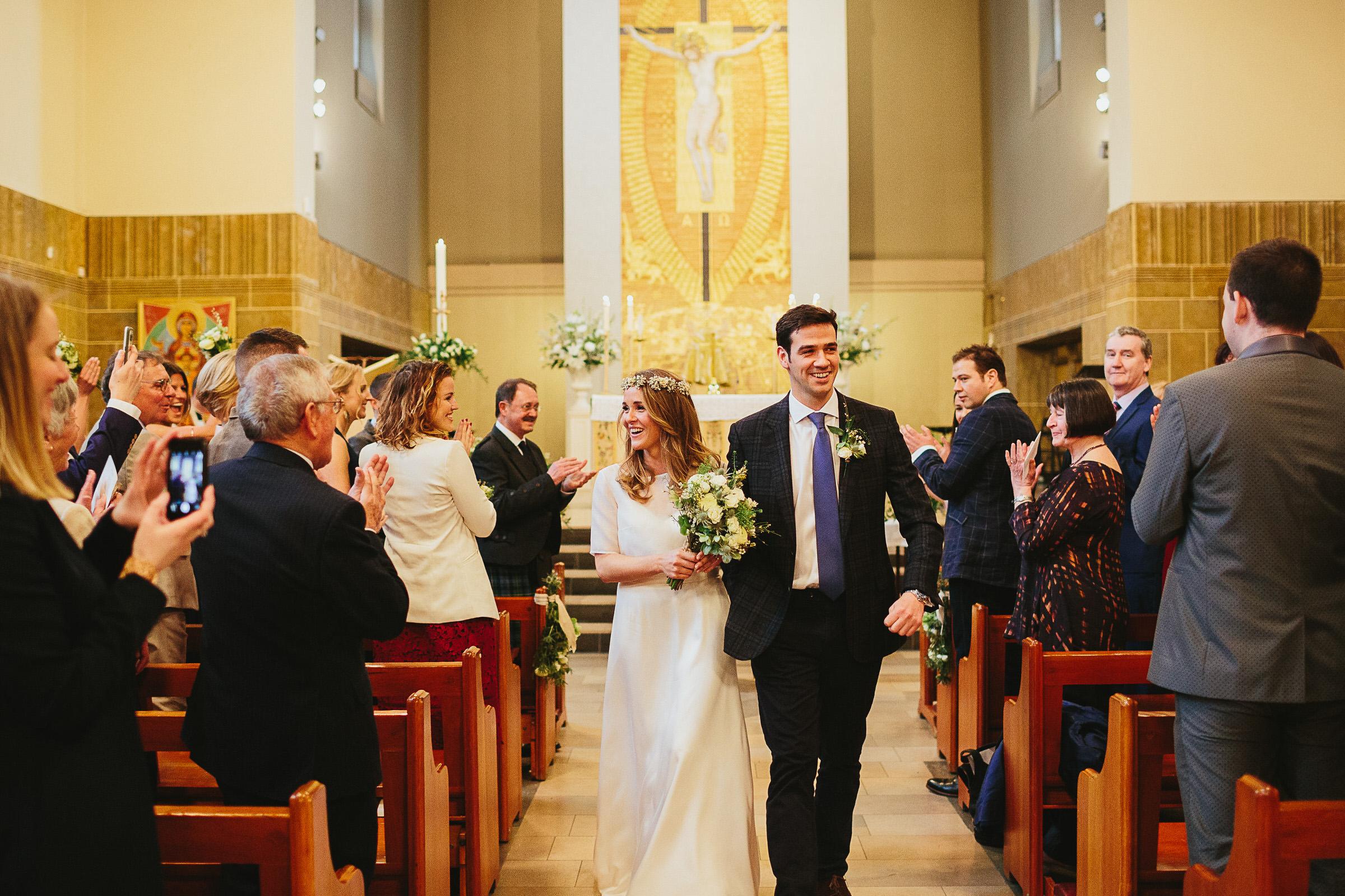 The Elgin Pub wedding - Eamonn & Fiona
