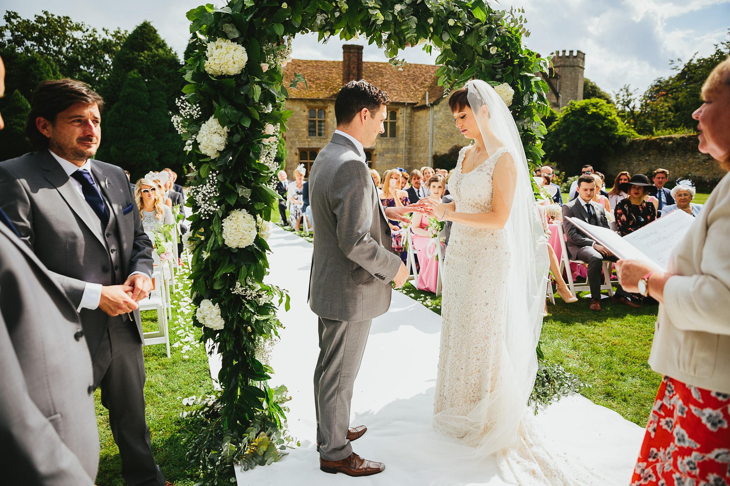 walled garden wedding