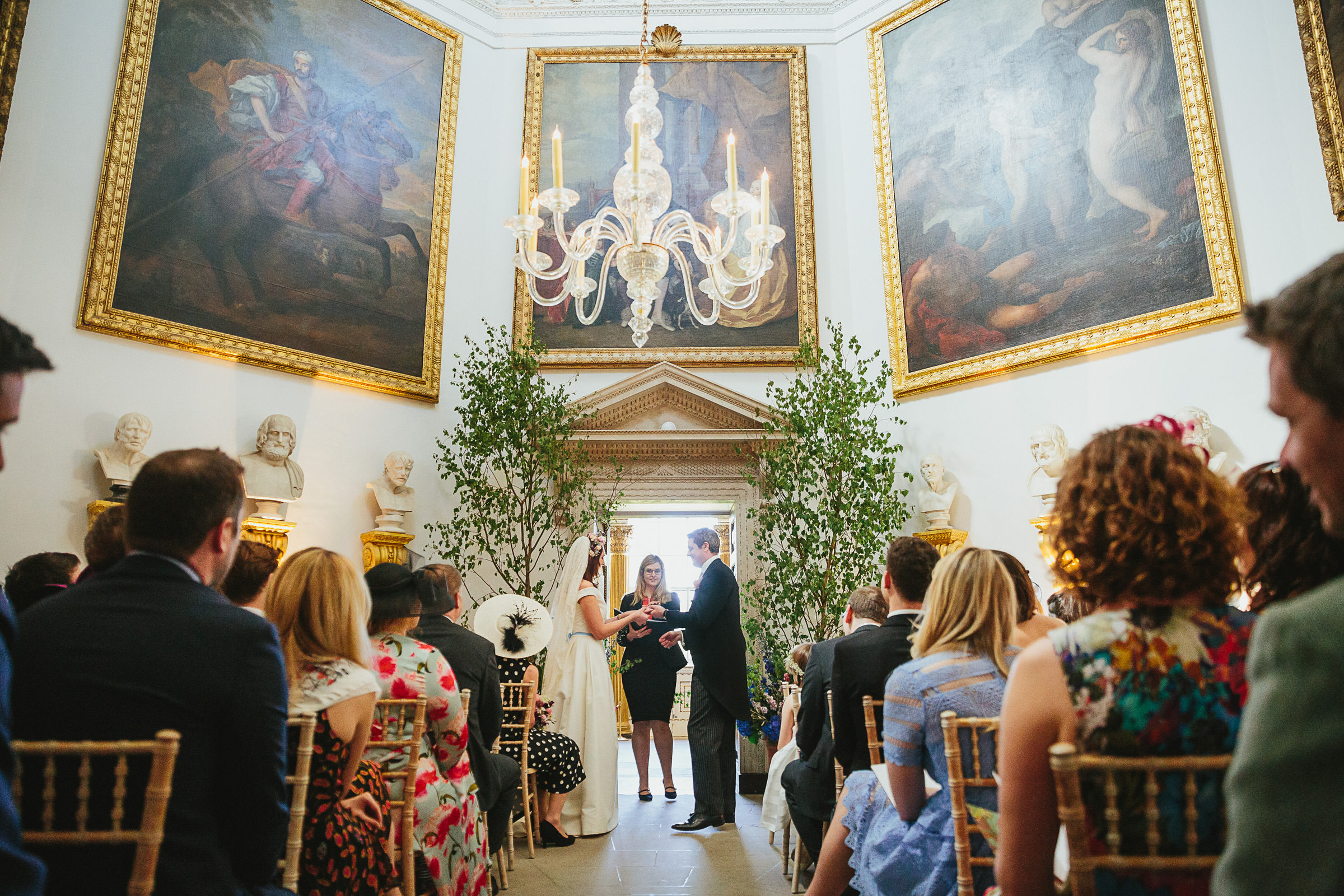 chiswick House ceremony