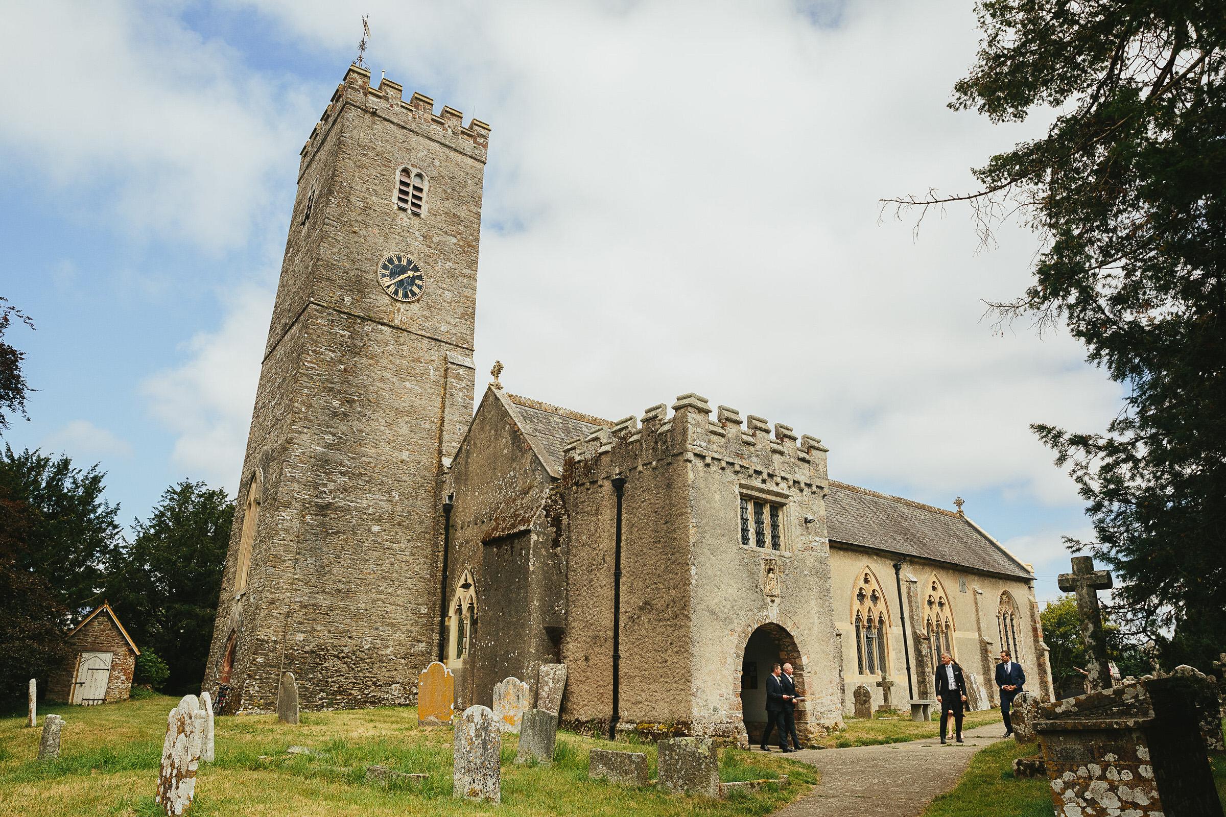 Staverton church