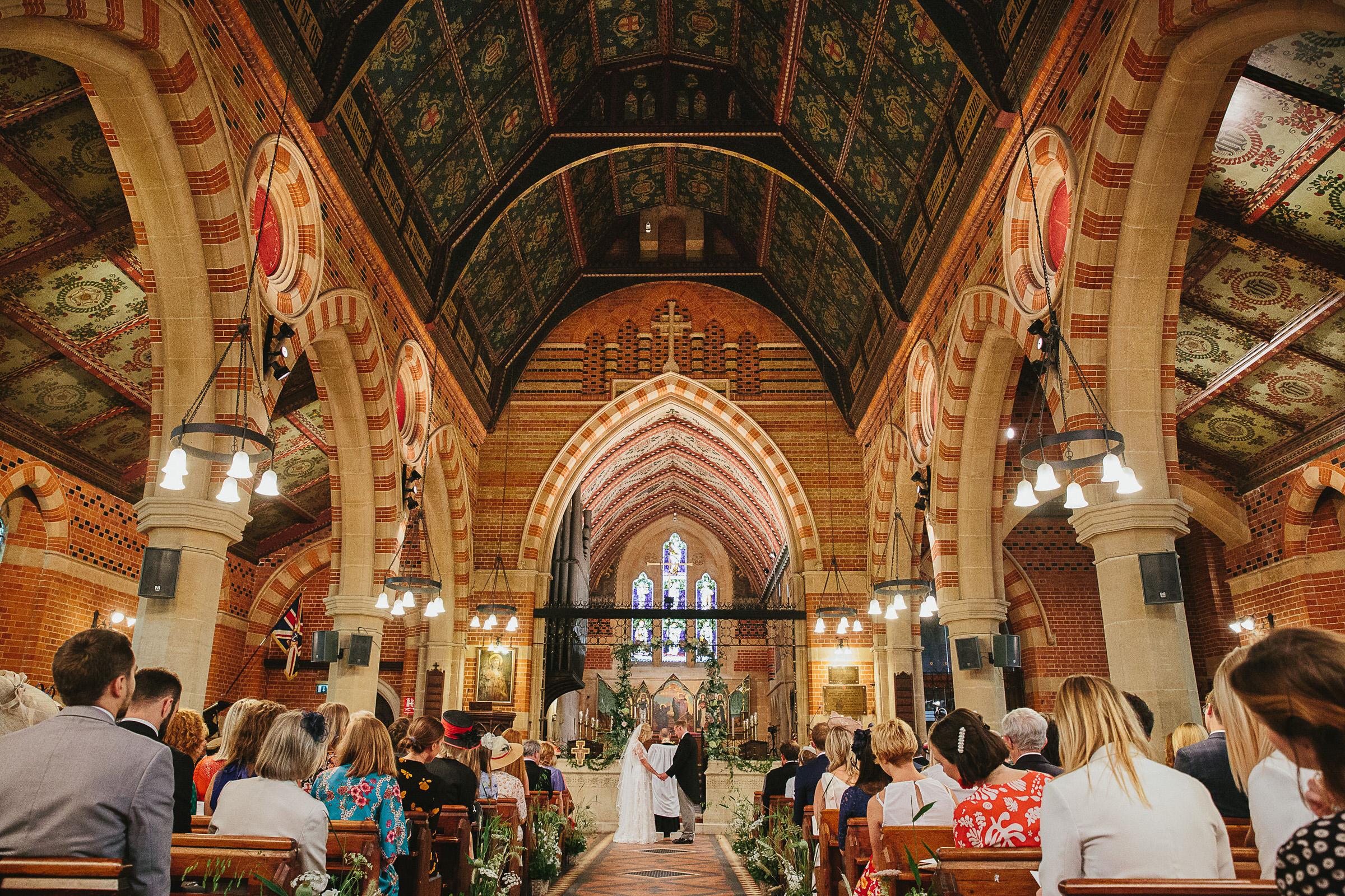 all saints church putney wedding