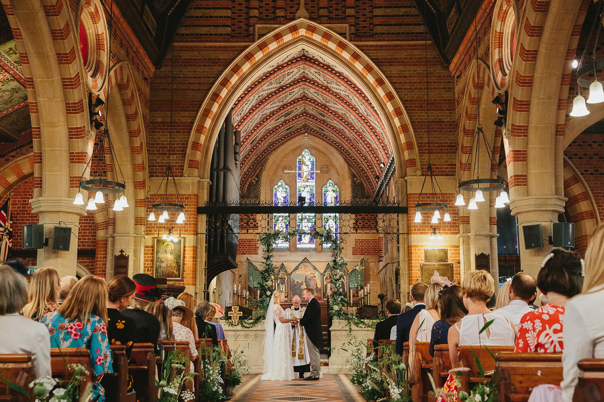 all saints putney wedding