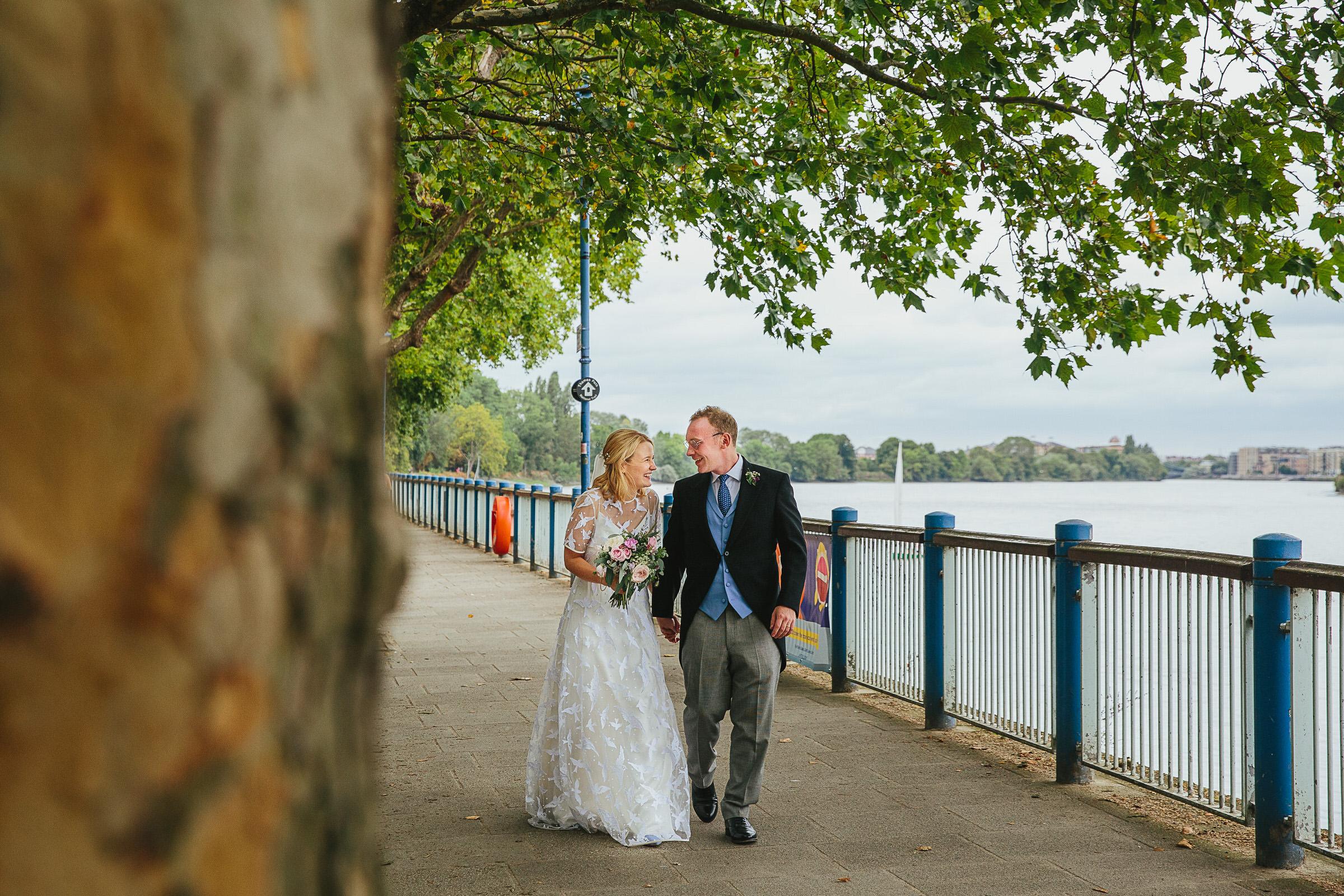 putney embankment wedding