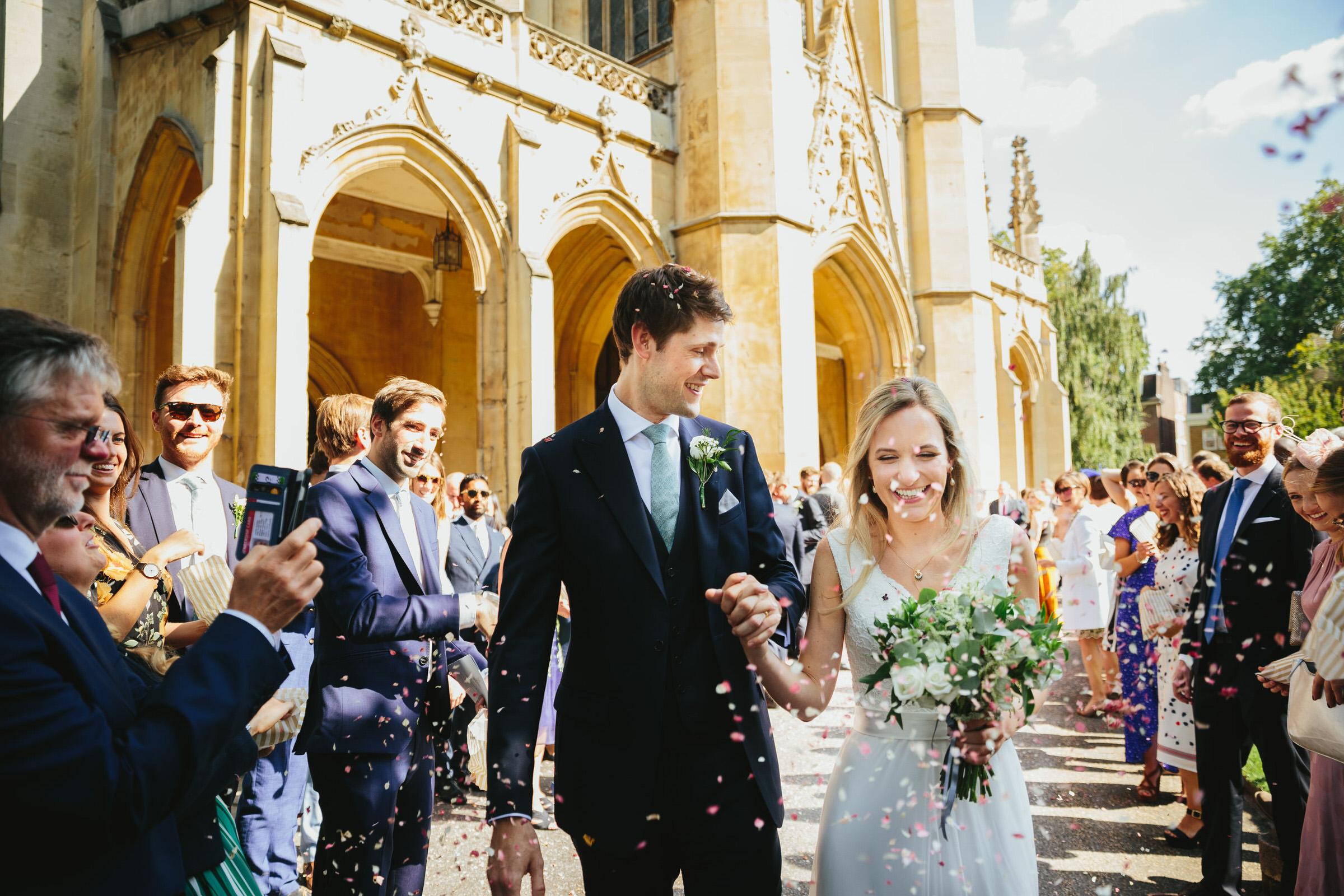 St Lukes Chelsea wedding - Sally & Simon