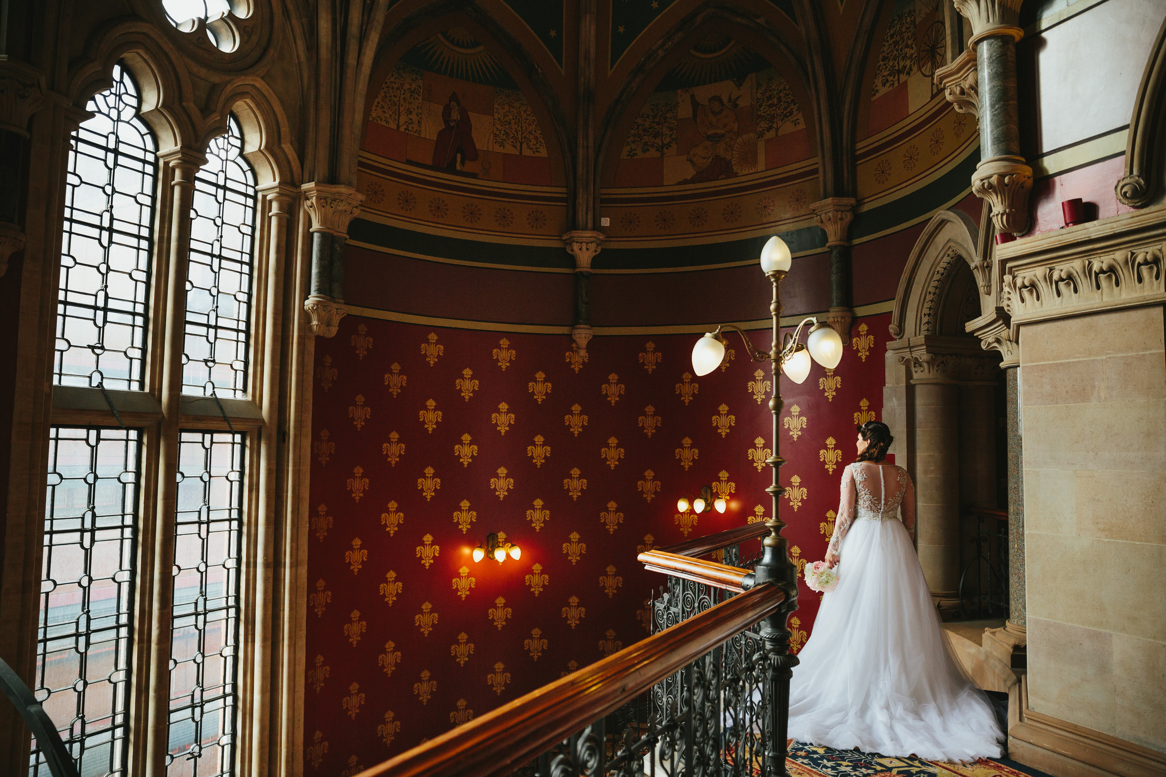 St Pancras Renaissance Hotel wedding - Lee & Bo